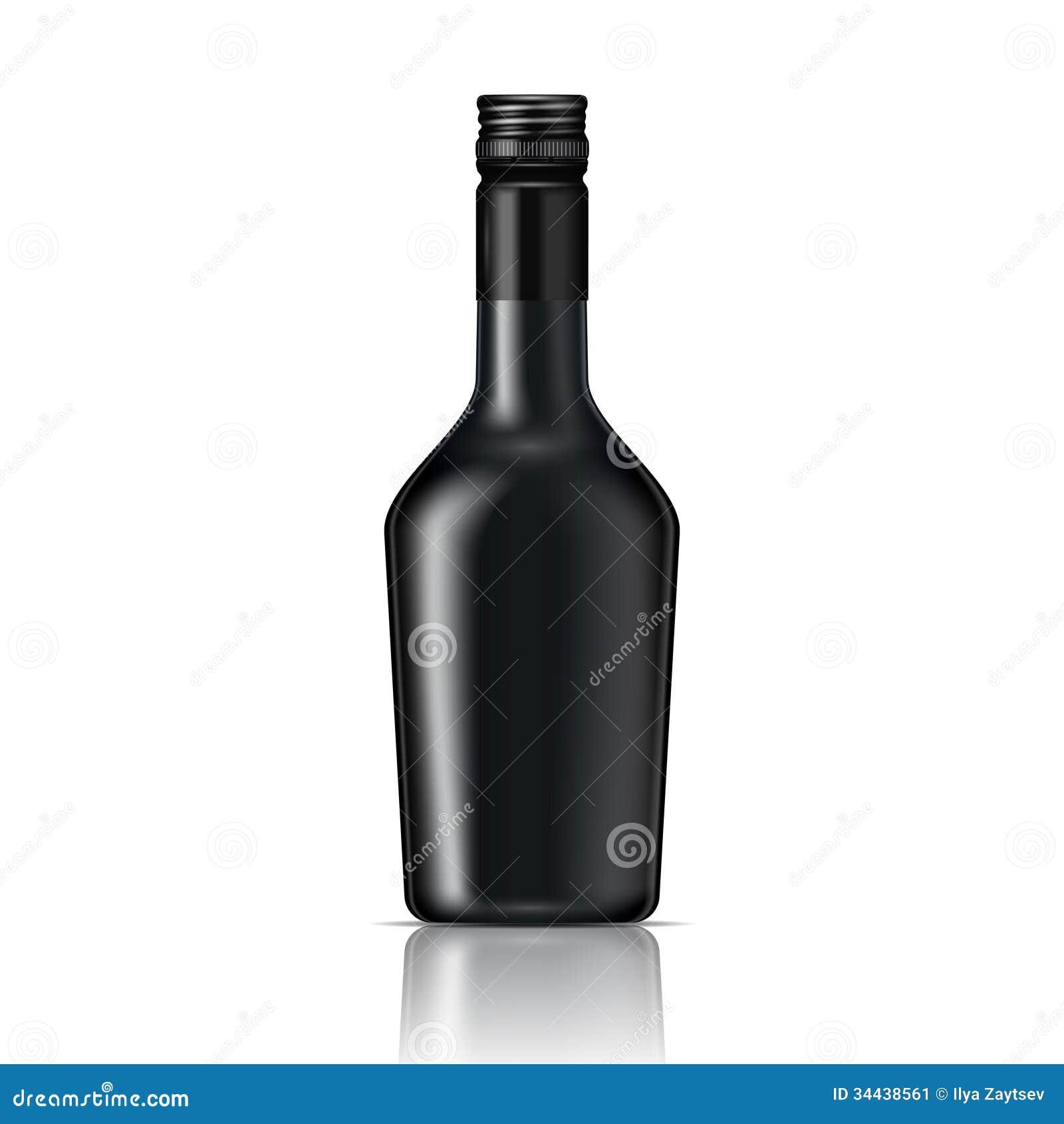 Cl Glass Spirit Bottle