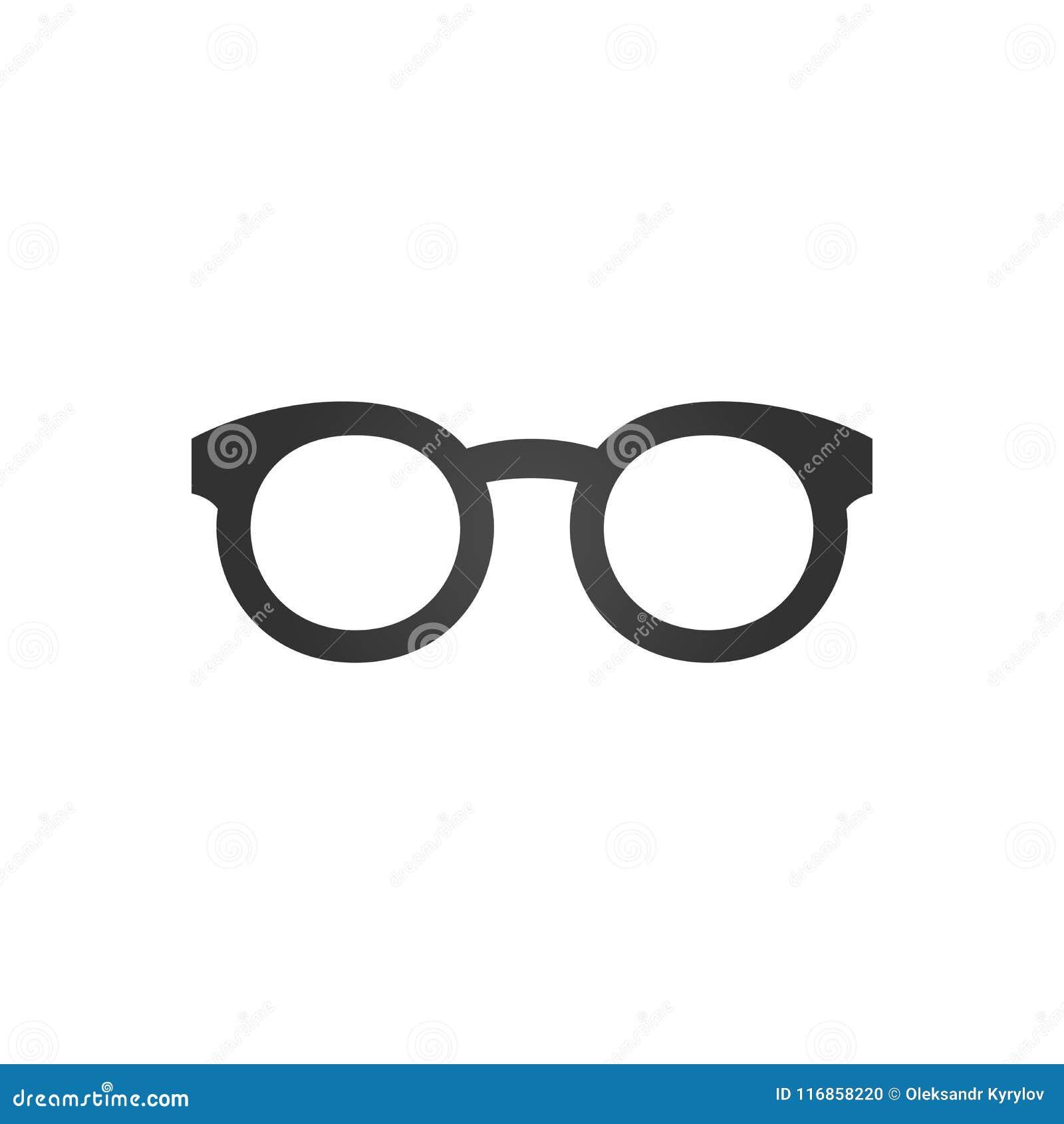 04b679113f Black Glasses Icon