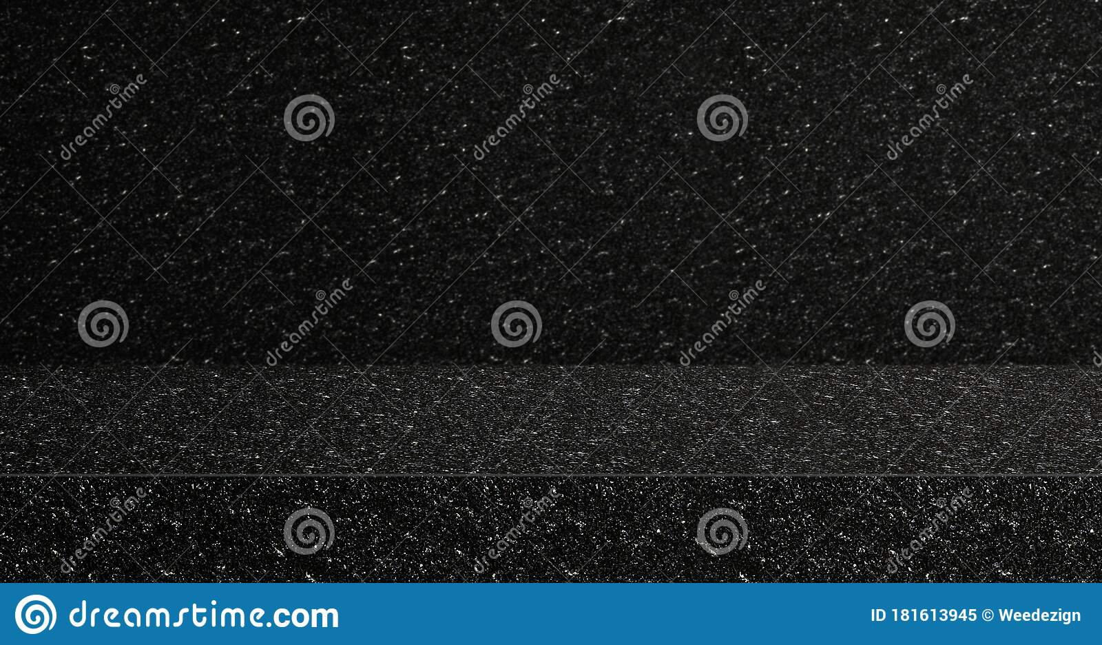 Black Glitter Texture Table Product Display Background 3d Perspective Studio Photography Stand Banner Mockup Space For Showcase Stock Image Image Of Festive Mockup 181613945