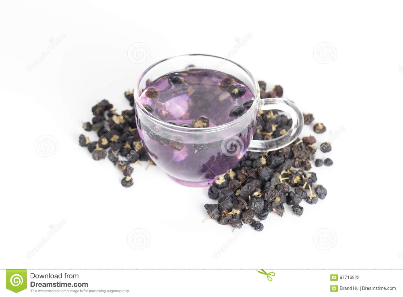 Black Goji Berry Tea Stock Image Image Of Antioxidant 97716923
