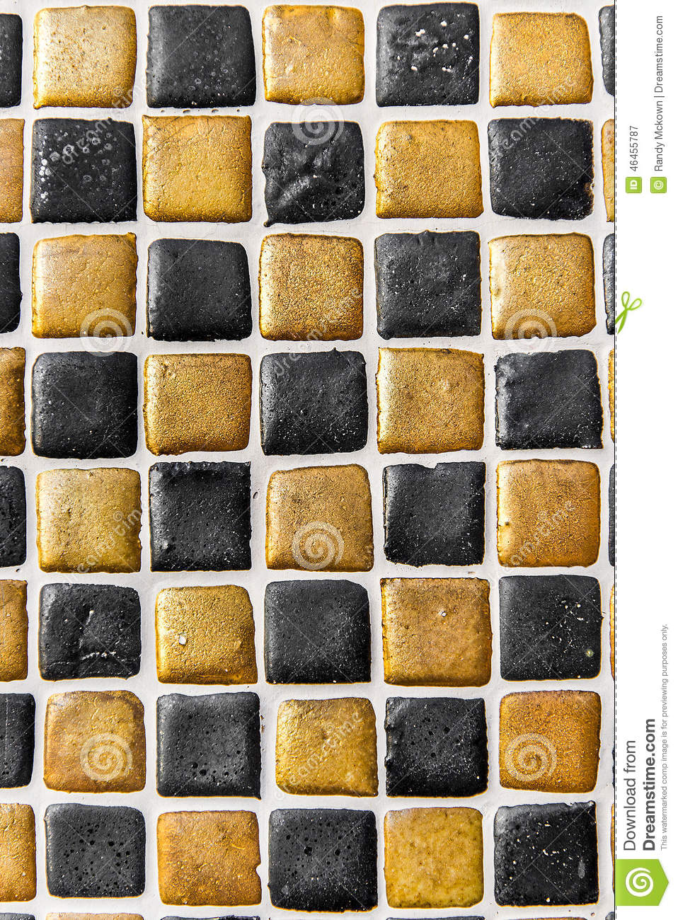 Black Gold Ceramic Tile Background Pattern Texture Stock Image Image 46455787