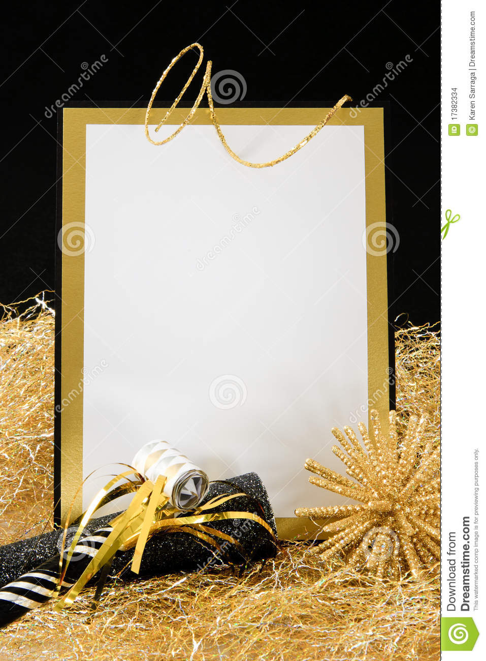 black and gold new year u0026 39 s eve invitation stock images