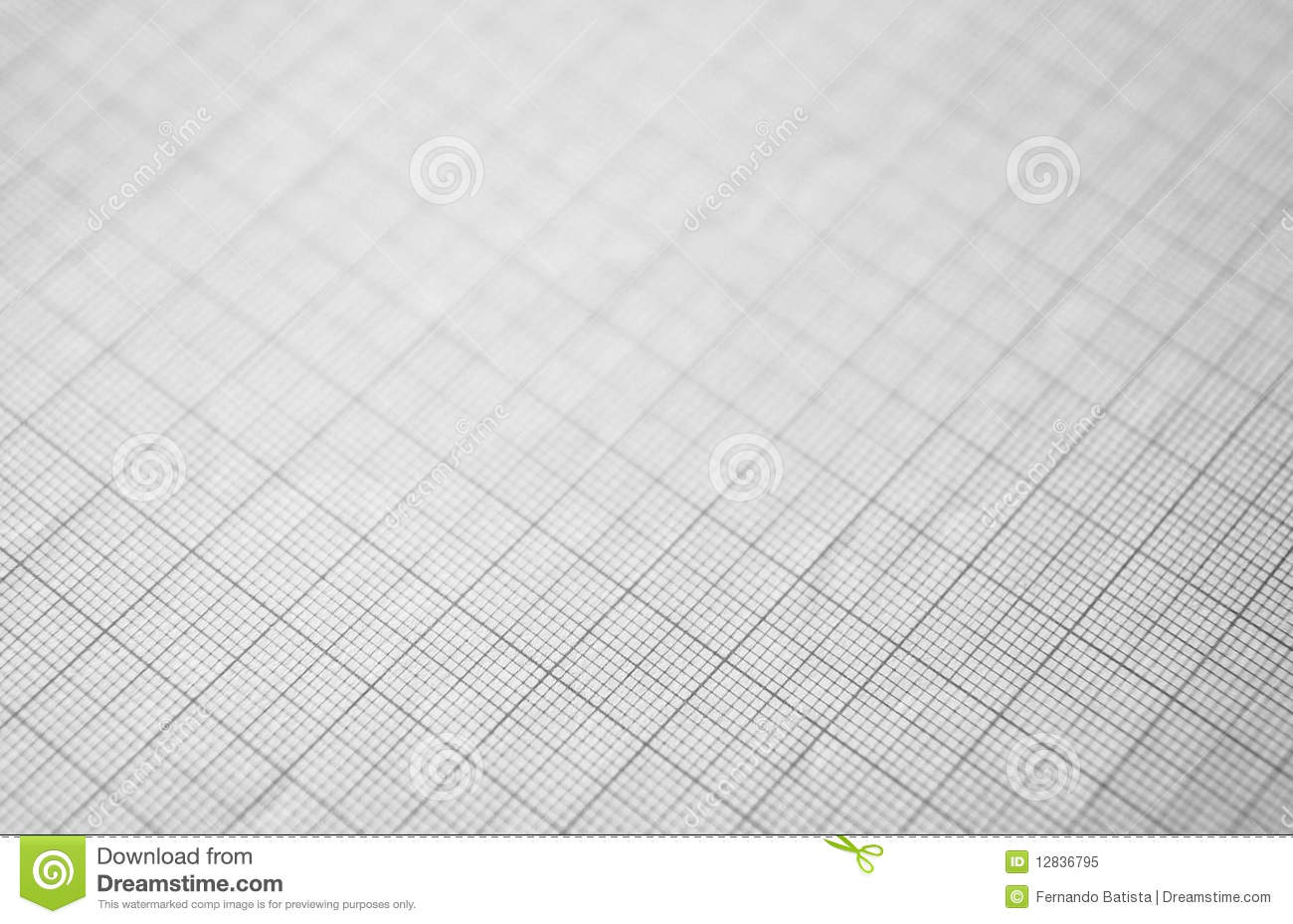 Black graphing paper for