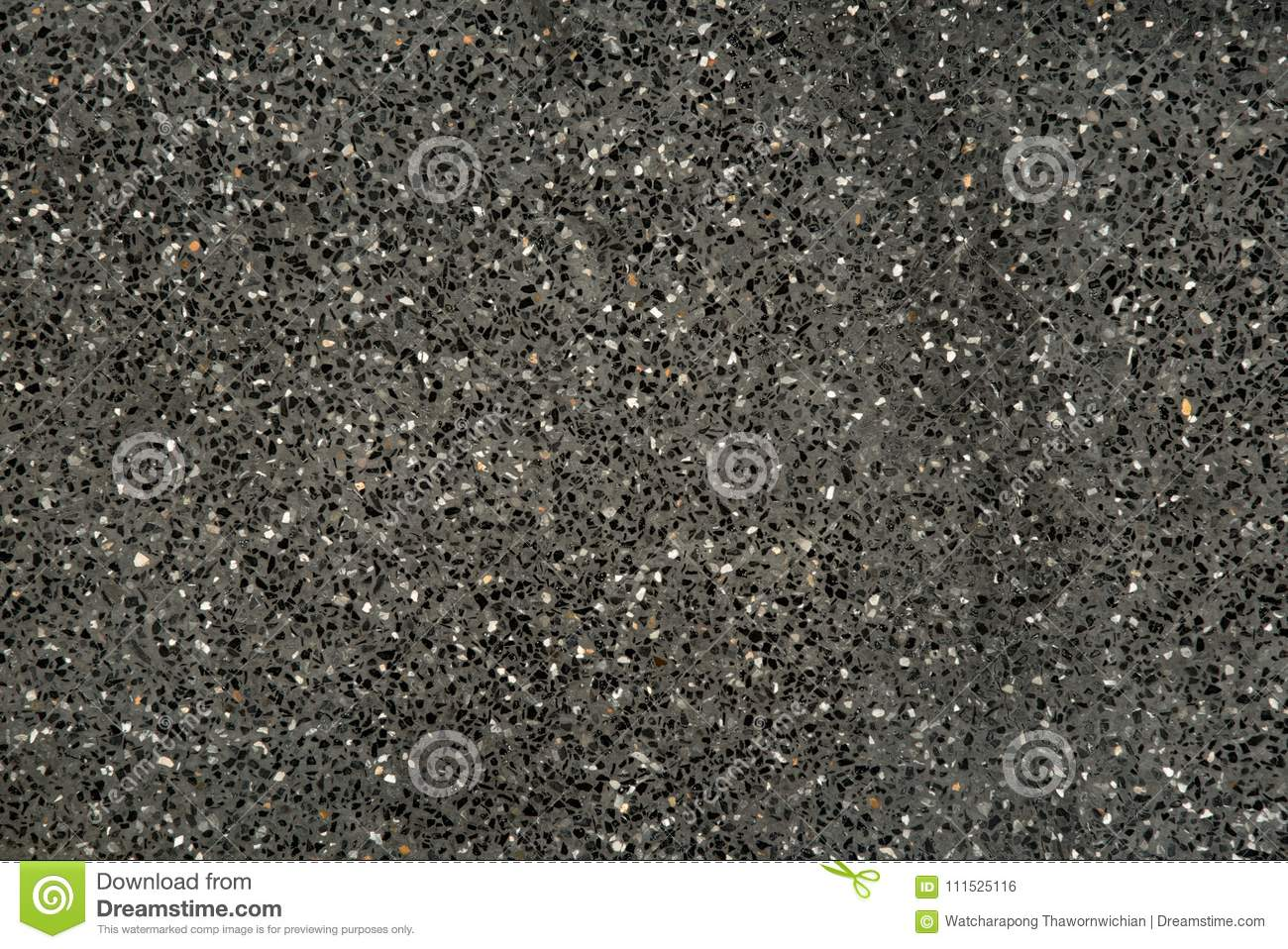 Download Black Gravel Stone Terrazzo Stock Photo