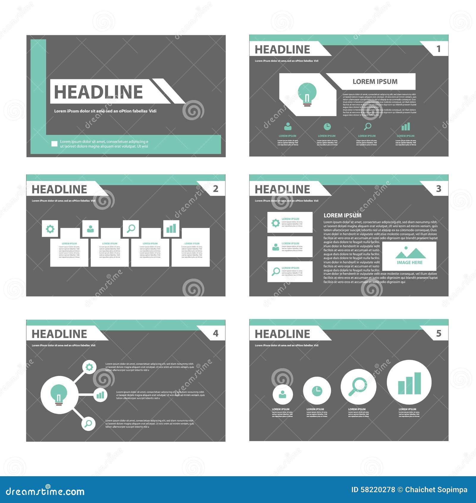 Black And Green Multipurpose Brochure Flyer Leaflet Website Template ...