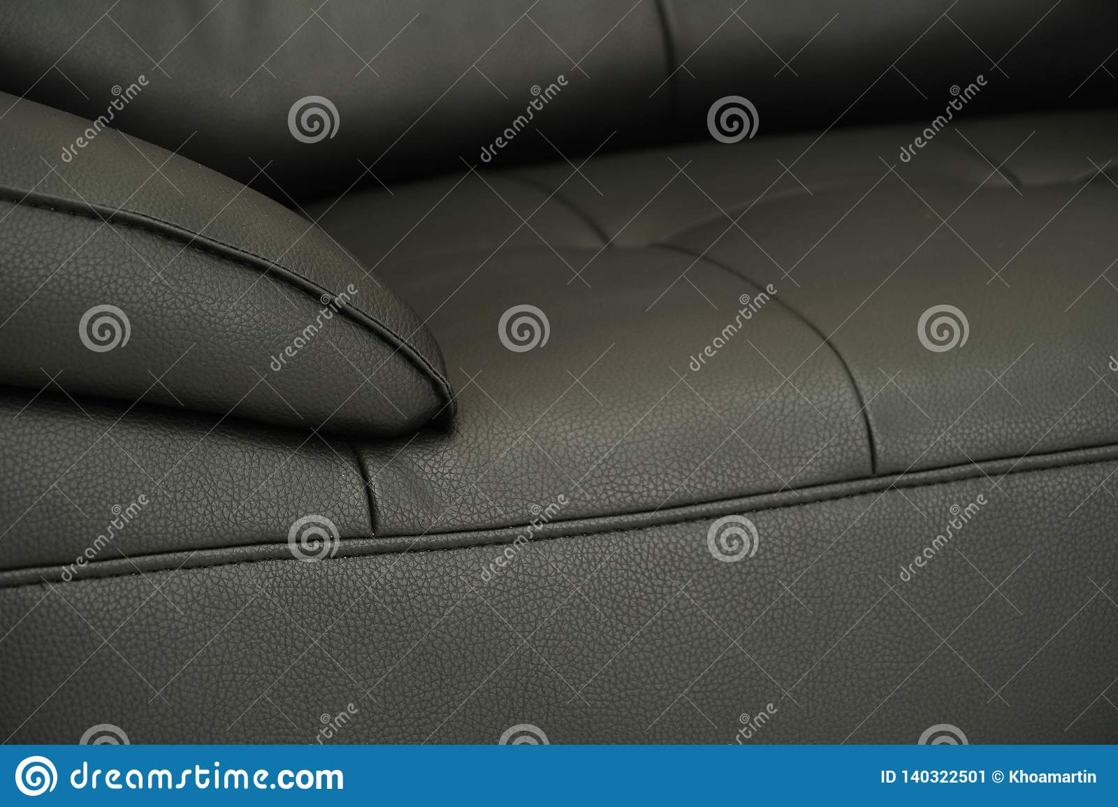 Cool Black Fabric Sofa Close Up Detail Texture Stock Image Ocoug Best Dining Table And Chair Ideas Images Ocougorg