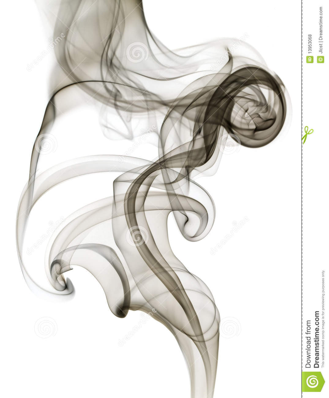 Black Grey Swirling Smoke Isolated Royalty Free Stock Photos ...