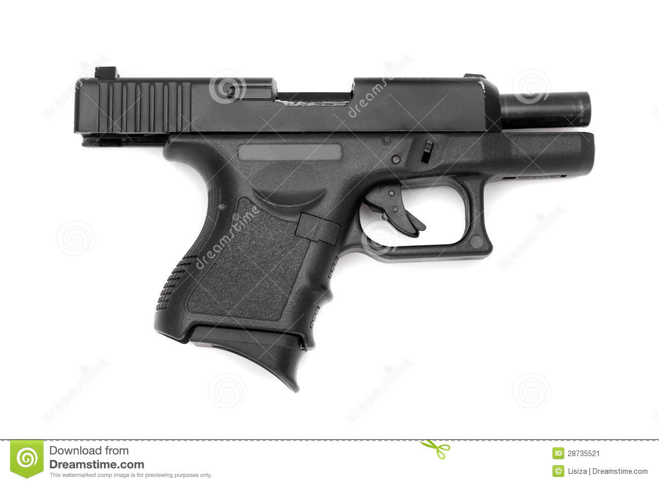 gun white background - photo #21