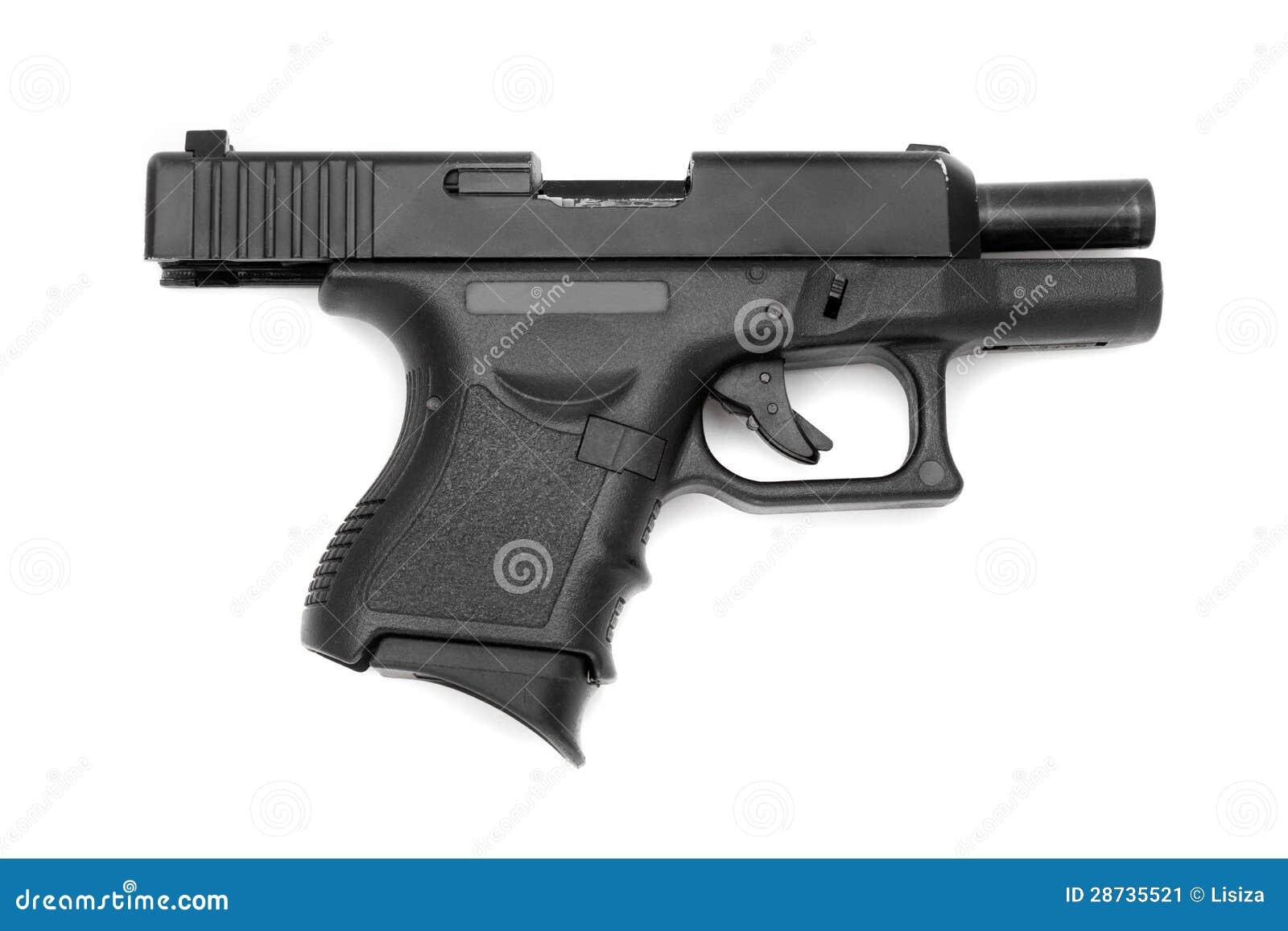 gun white background - photo #21