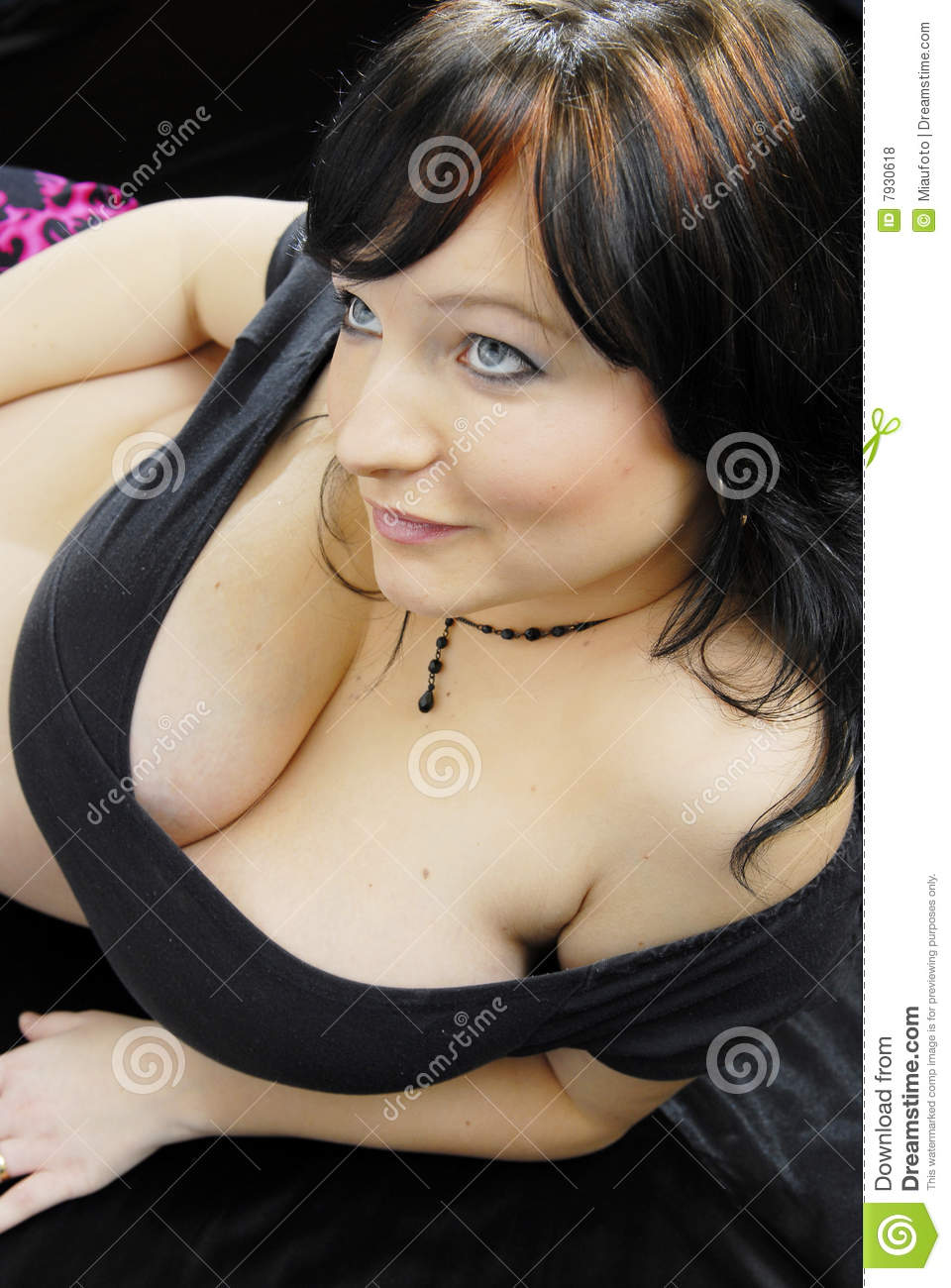 Black Hair Teen Age Girl With Huge Breast Stock Photo - Image Of -7565