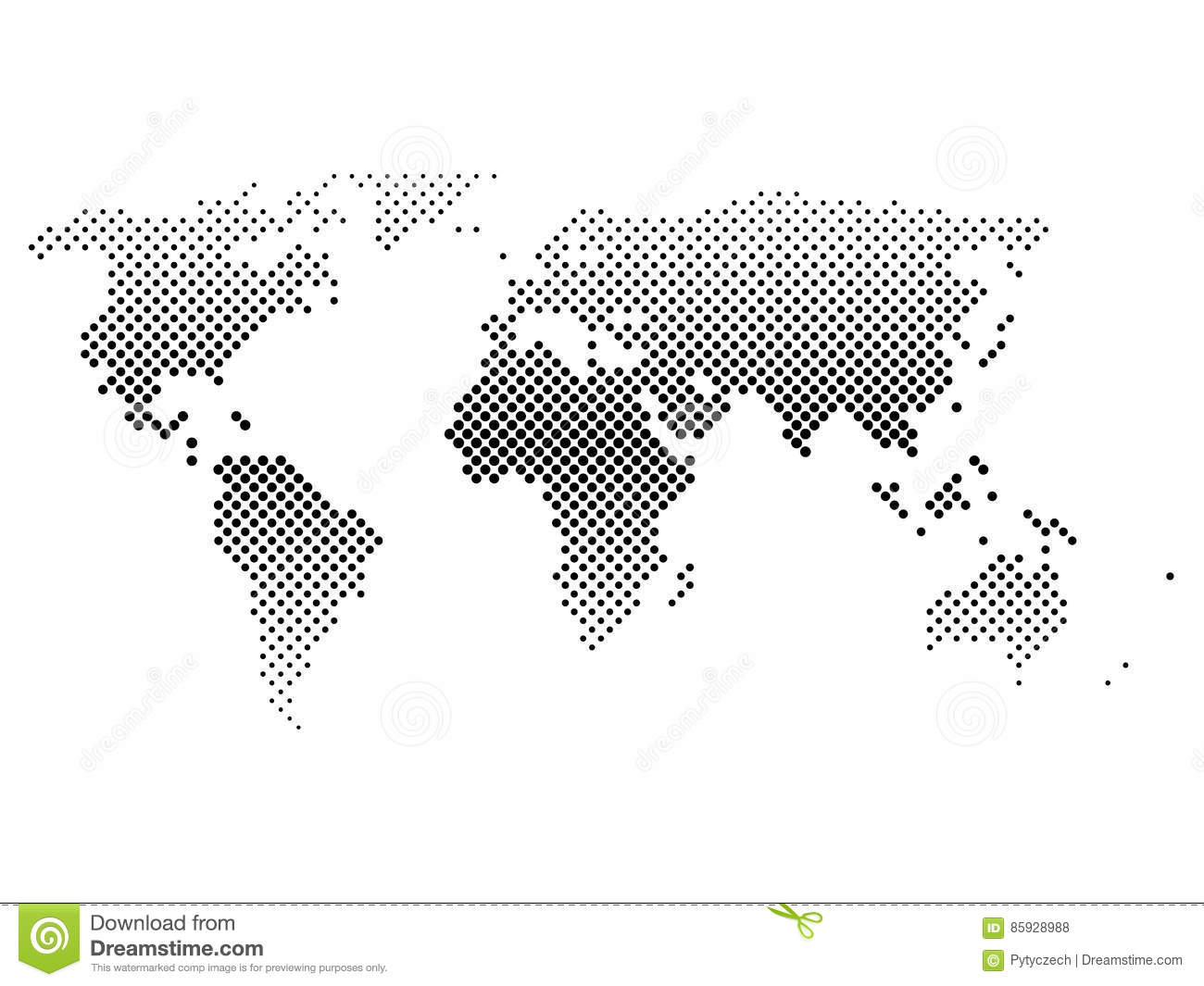Black halftone world map of small dots in diagonal arrangement download black halftone world map of small dots in diagonal arrangement bilinear horizontal gradient gumiabroncs Choice Image