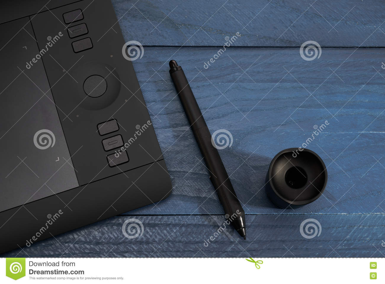 Stupendous Black Handle From A Professional Graphic Tablet Stock Image Download Free Architecture Designs Scobabritishbridgeorg