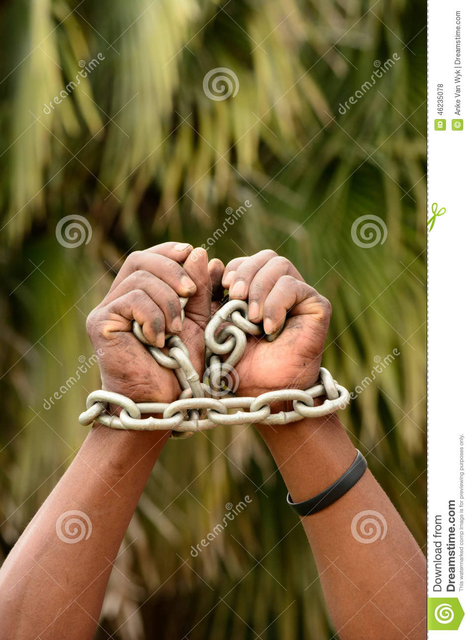 imprisonment puts freedom in chains