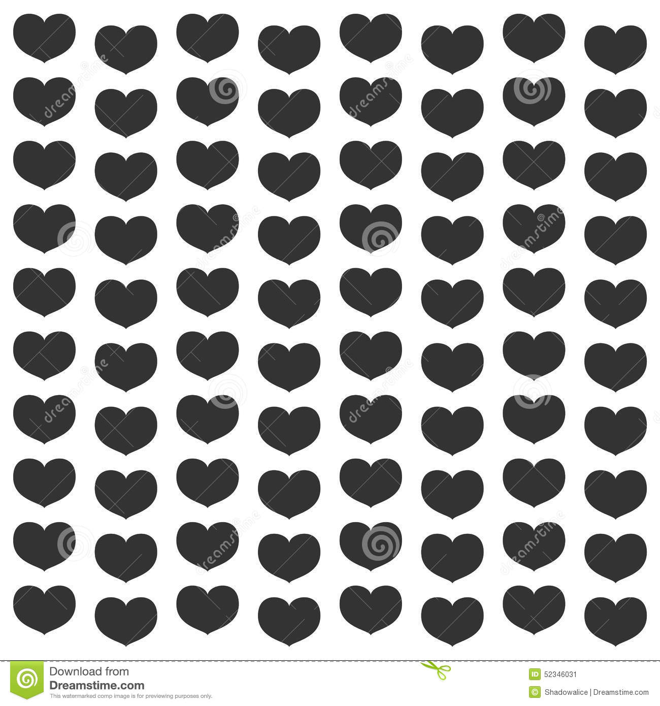 Black Heart Wallpaper Great For Any Use Vector Eps10 Stock Vector Illustration Of Cute Decorative 52346031