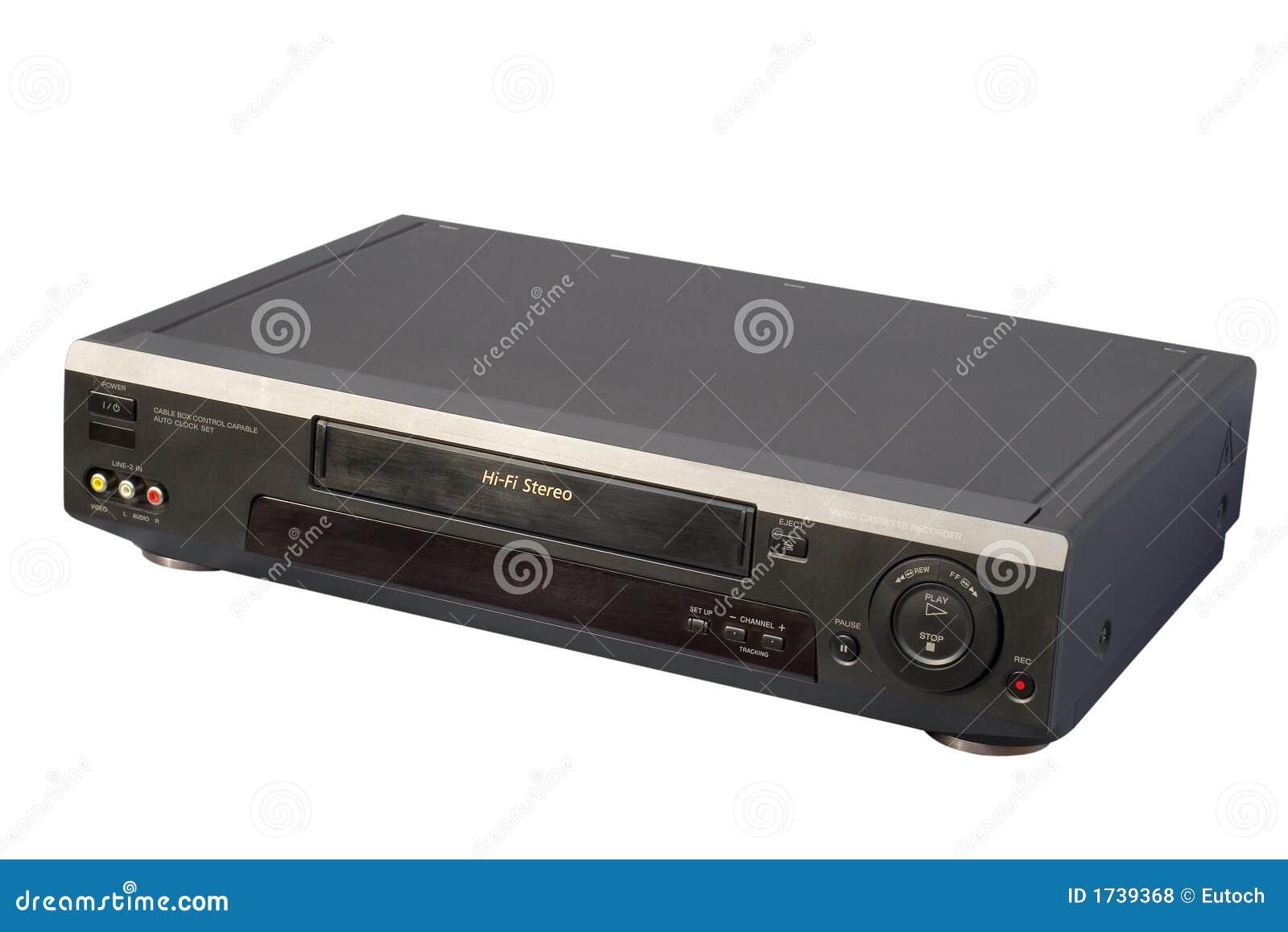 Black Hi-Fi VCR