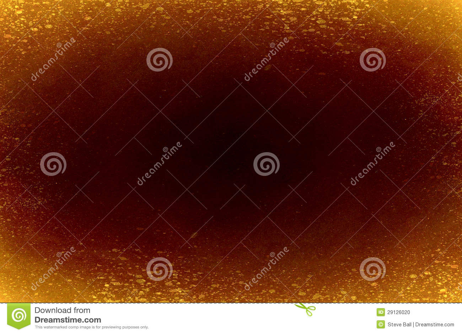 Black hole with orange background