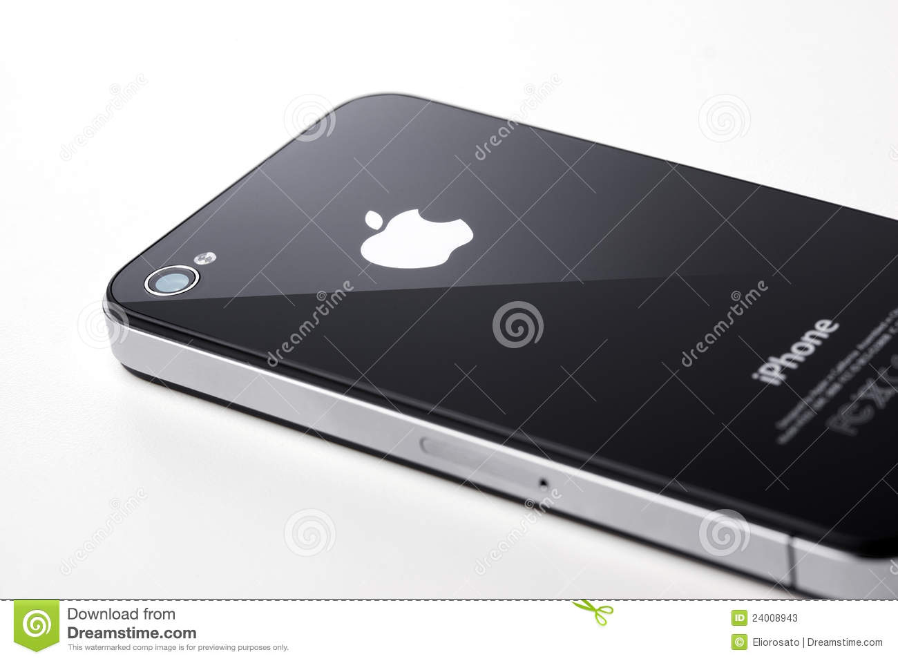 iphone 4s black black iphone 4s on white background editorial stock photo 4082