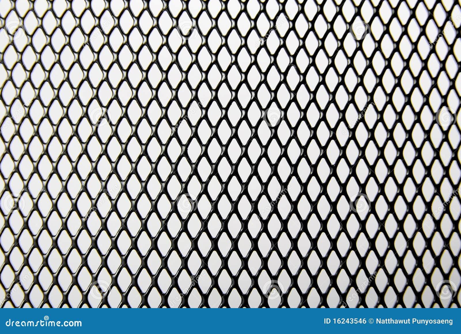 Black iron wire pattern royalty free stock image
