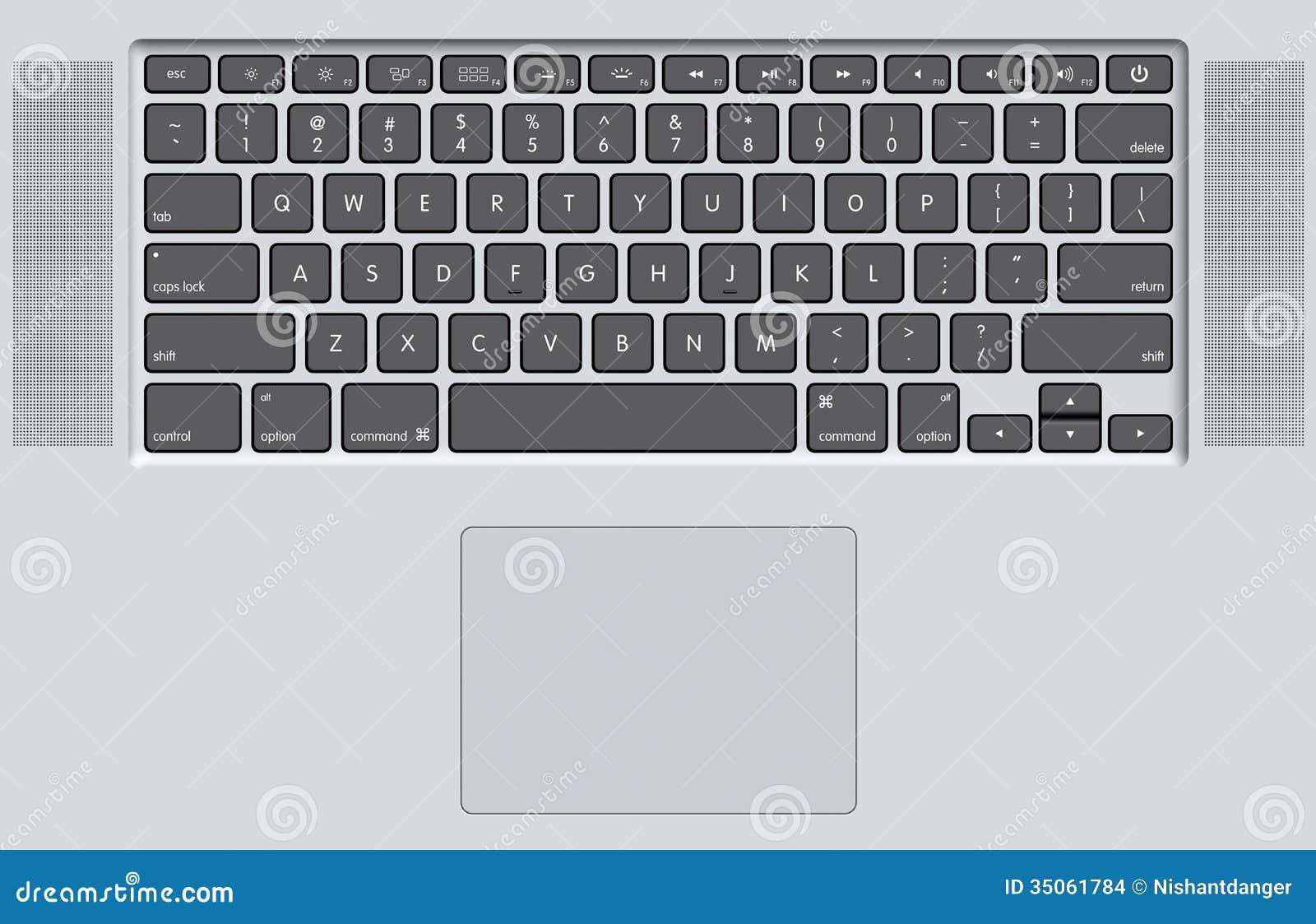 black keyboard of white laptop stock images image 35061784. Black Bedroom Furniture Sets. Home Design Ideas
