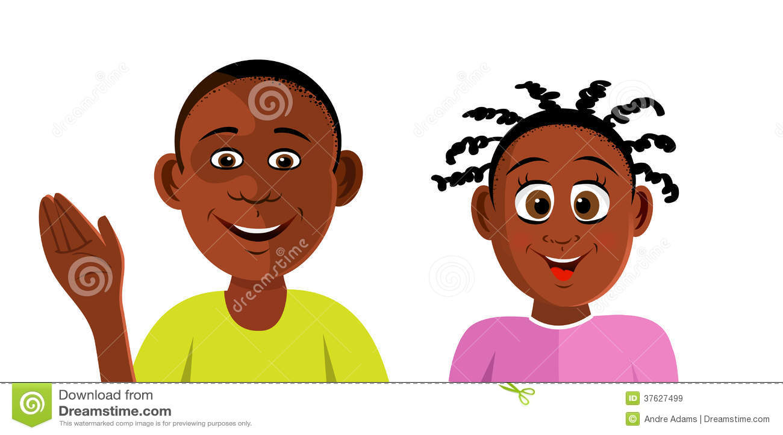 Black Kids Smiling Royalty Free Stock Images Image 37627499