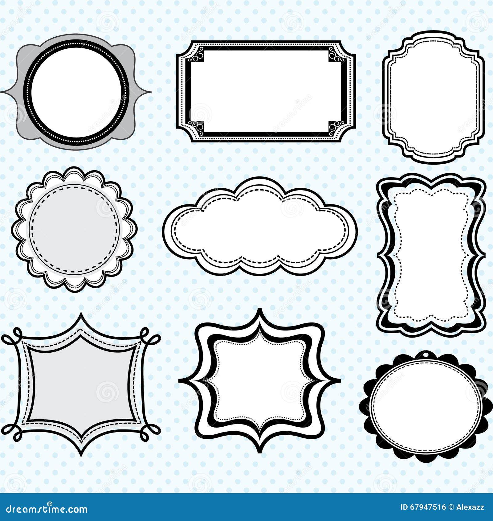 black label frameselegant ornate frames set - Elegant Frames