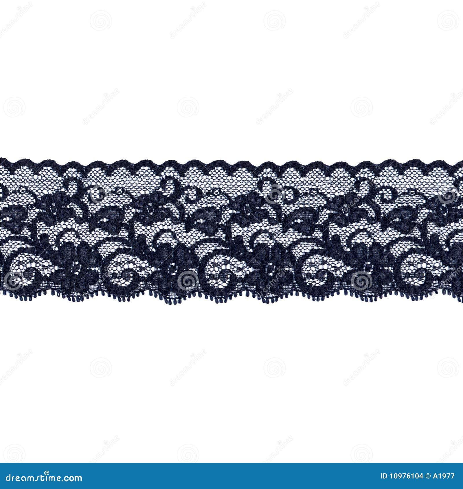 Black lace band