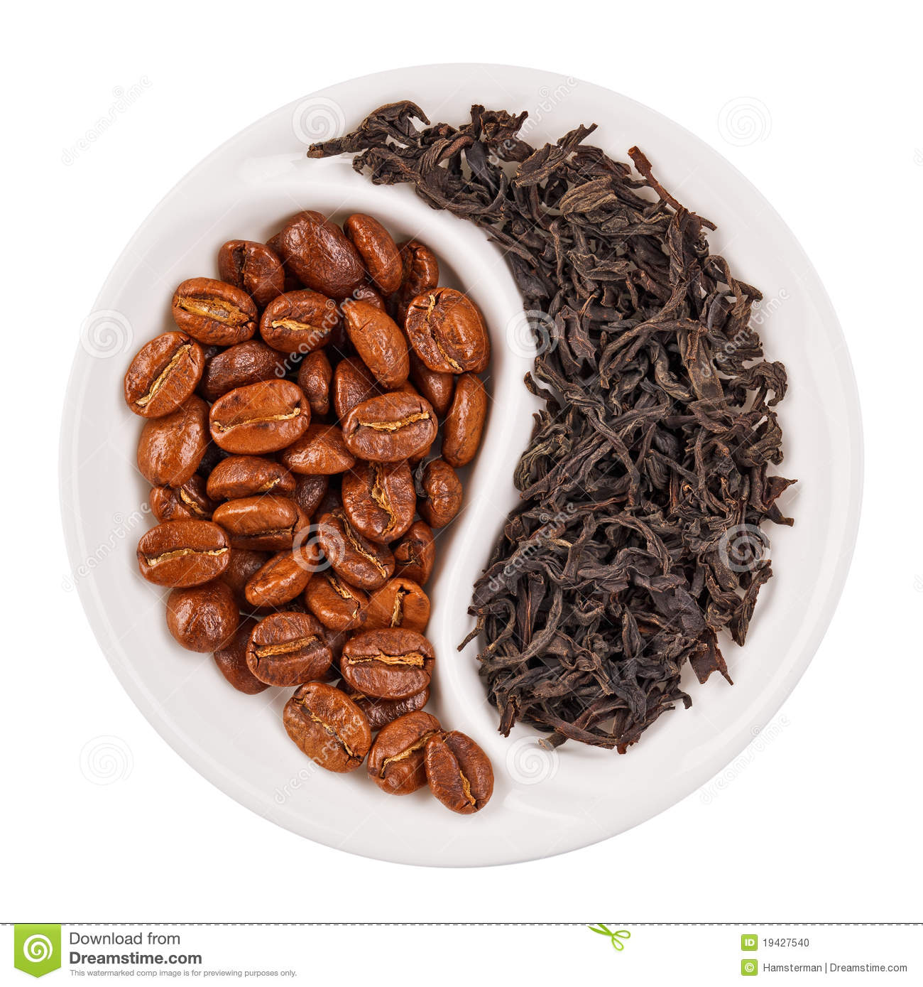 Coffee Bean Black And White Black leaf tea versus coffee