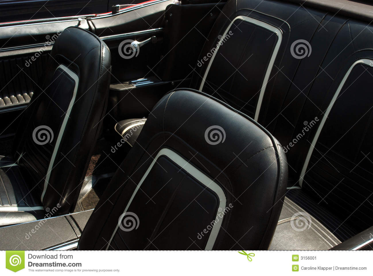 black leather car interior stock image image 3156001. Black Bedroom Furniture Sets. Home Design Ideas