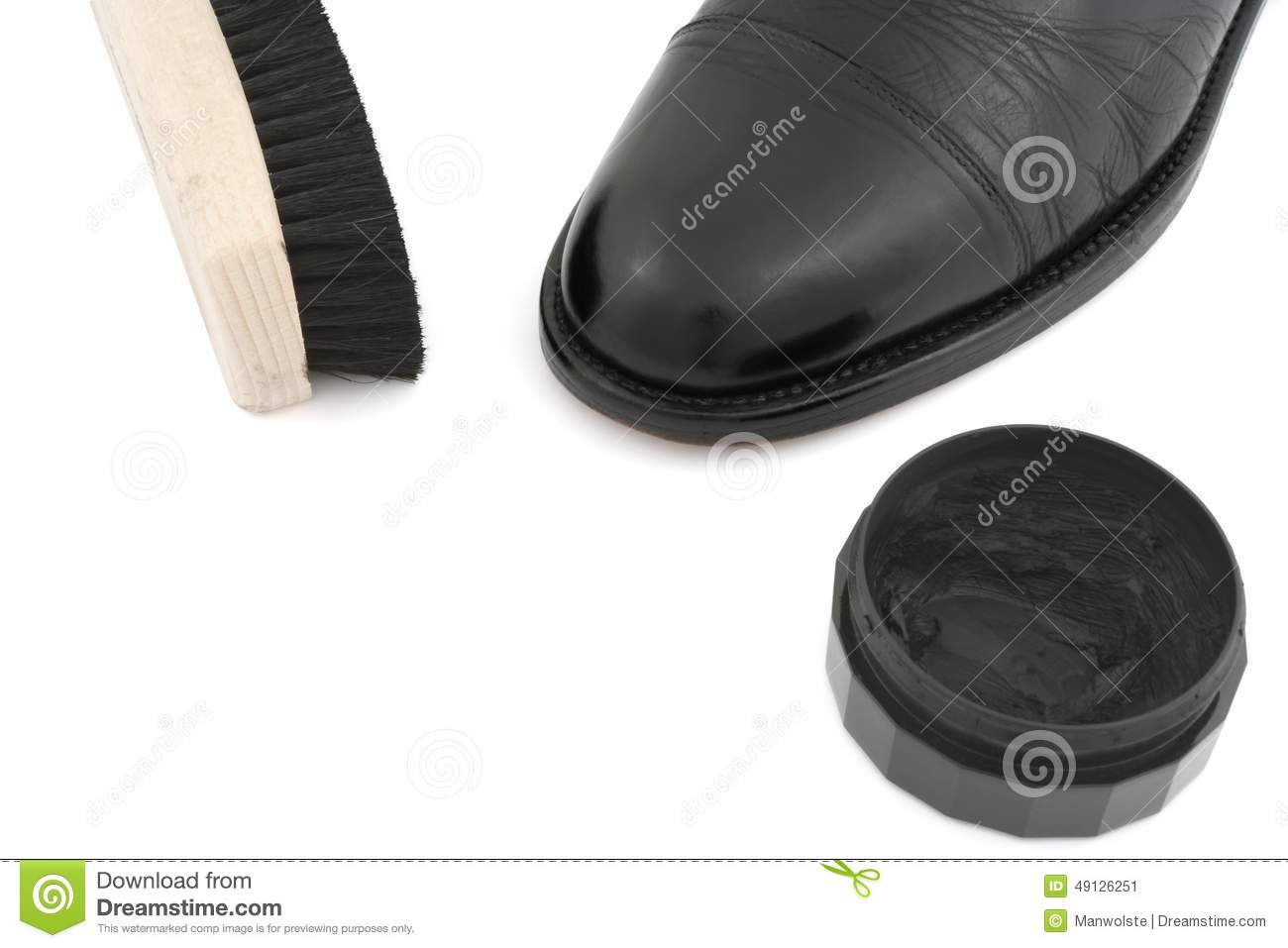 how to clean black leather shoes properly