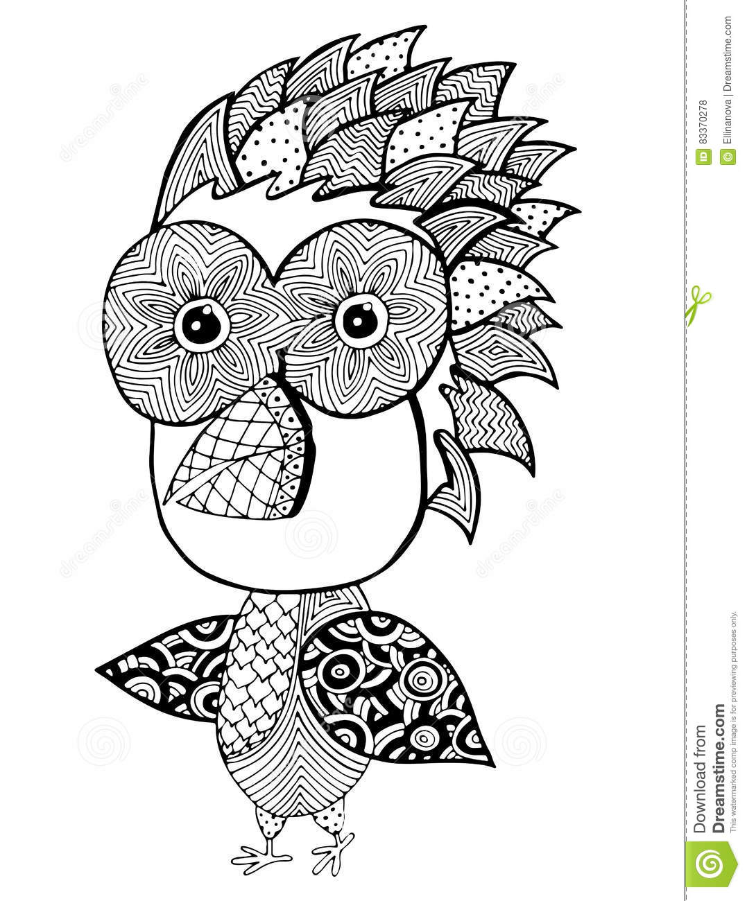 Abstract Bird Coloring Pages : Abstract of birds coloring pages