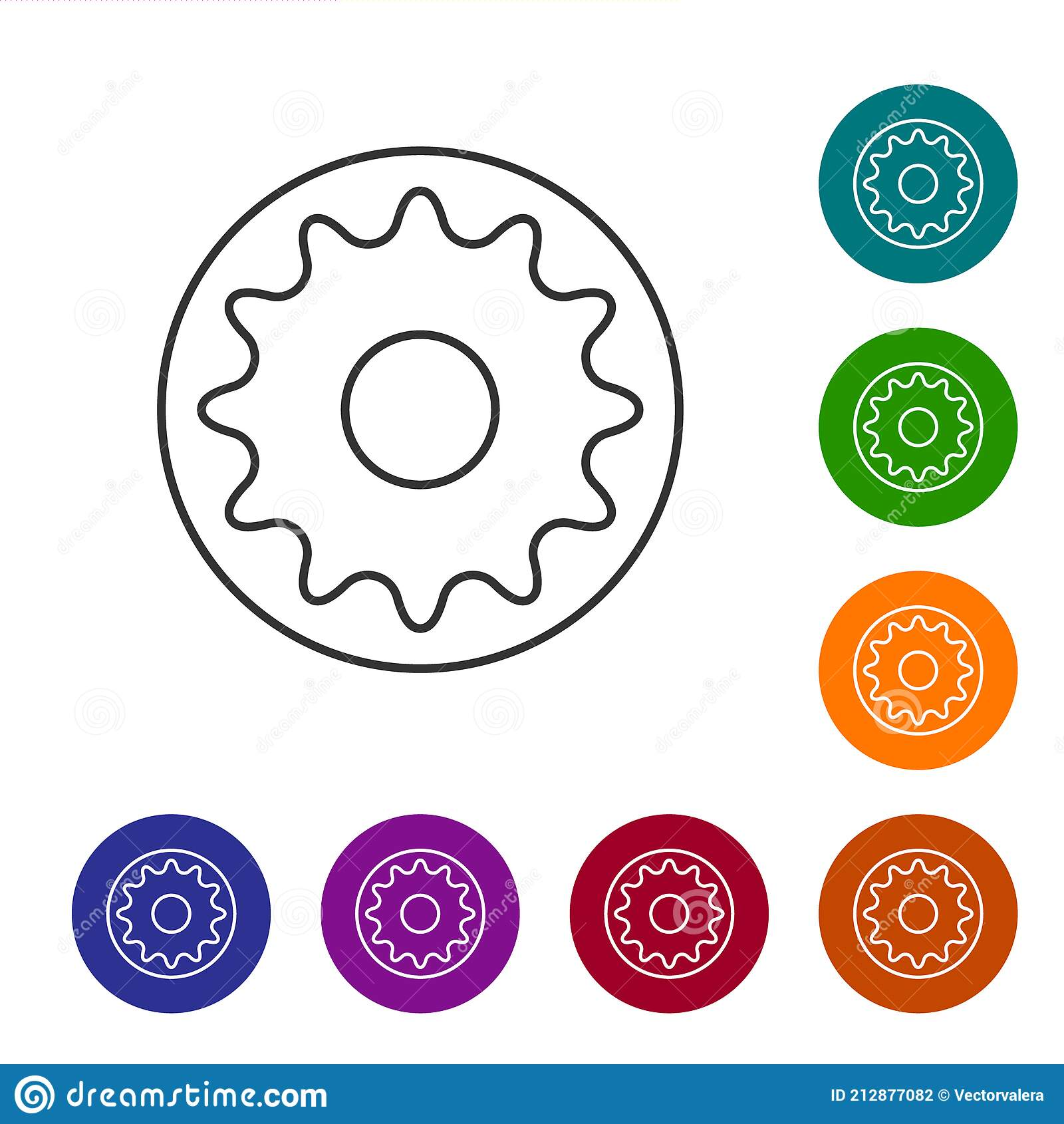 Chakra collection Button