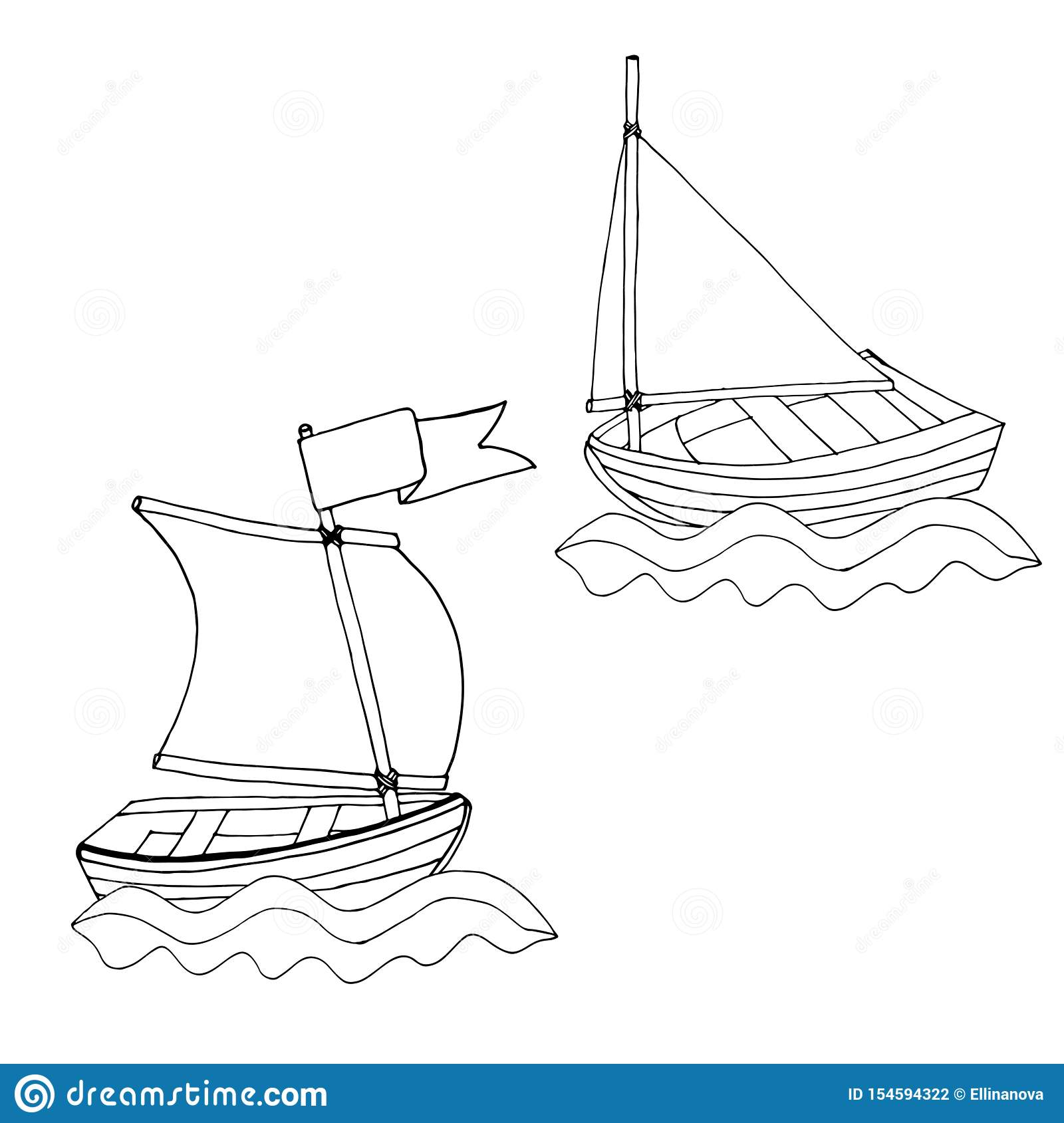 Picture Of A Sailboat - Coloring Home | 1689x1600