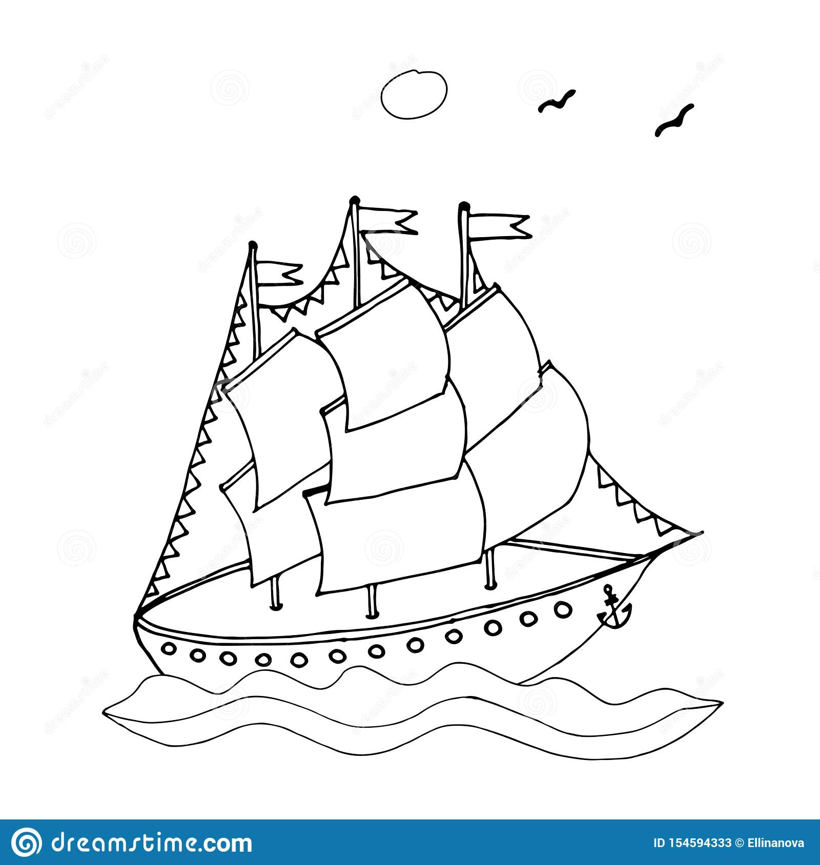 Sailing coloring page | Free Printable Coloring Pages | 1689x1600