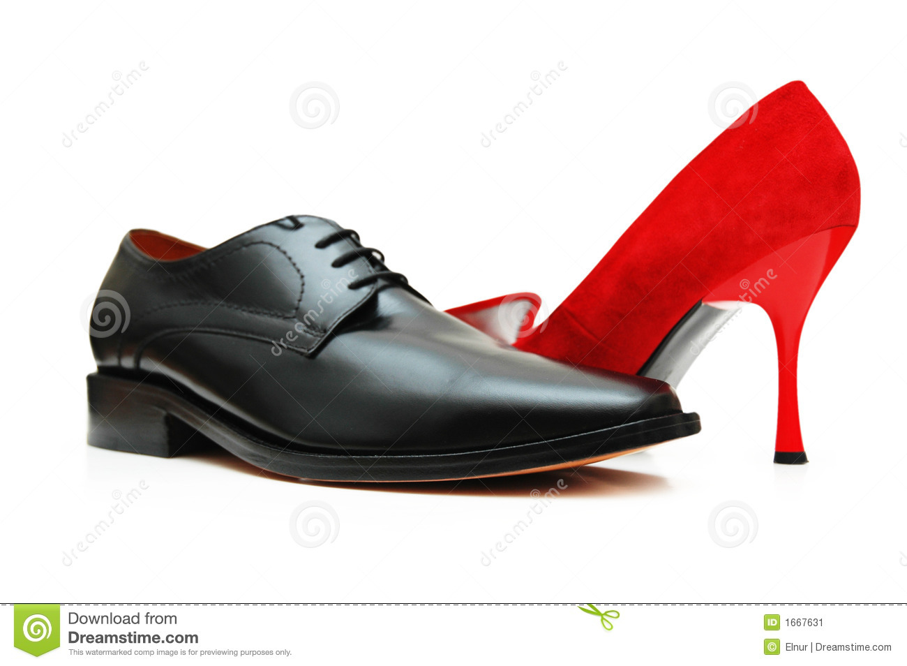 Wearing All Black With Red Shoes Men