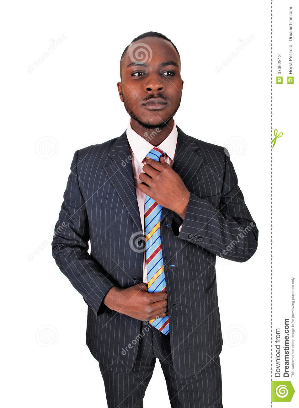 Black Man In Business Suit. Stock Photo - Image: 37362812