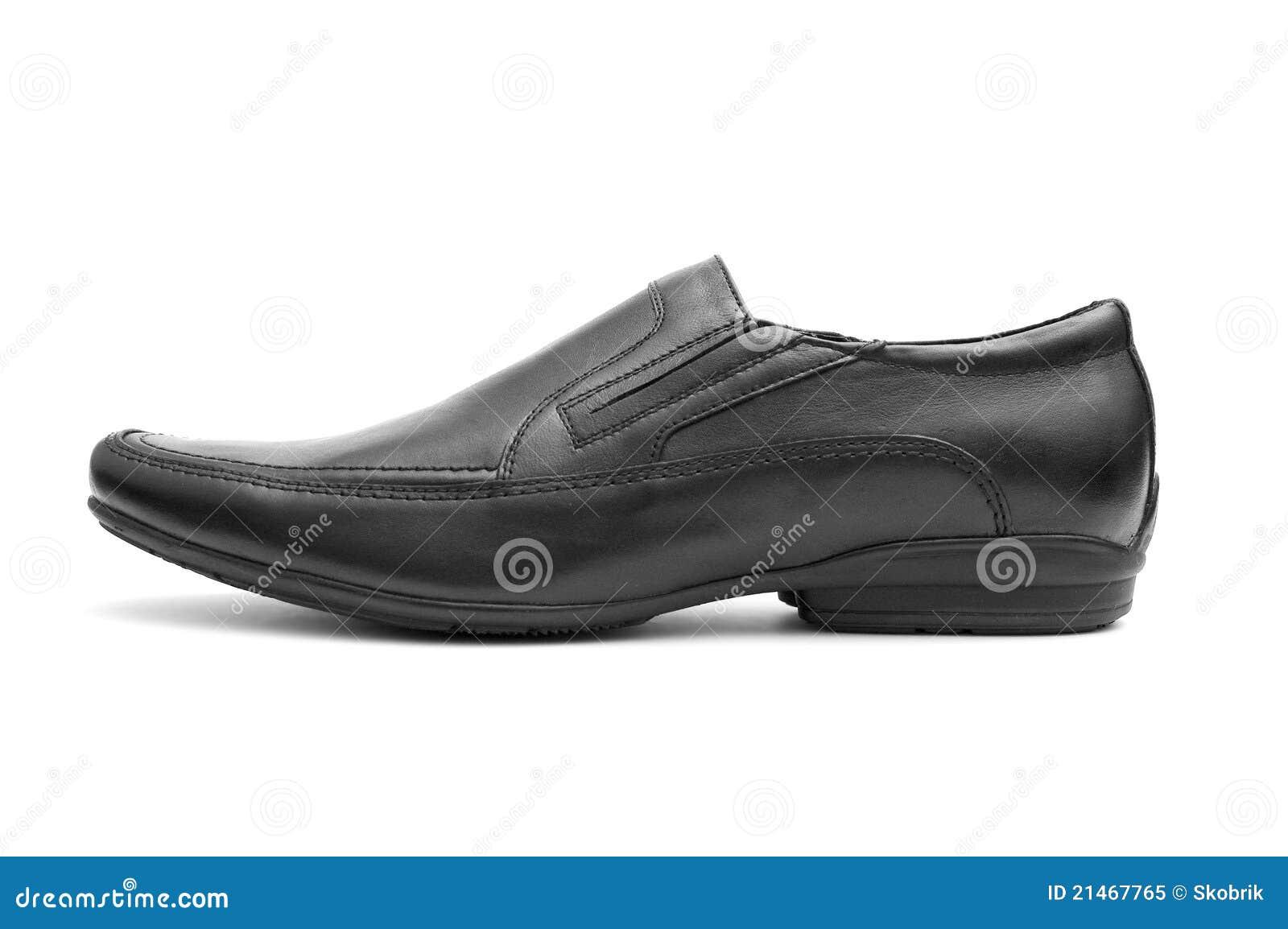 Black man s shoe