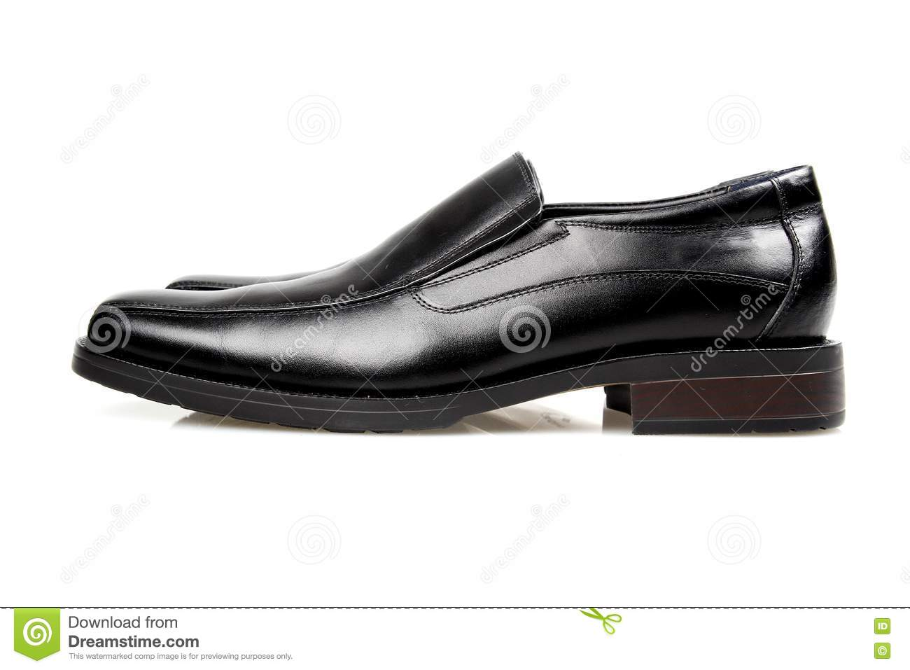 Black man s shoes.
