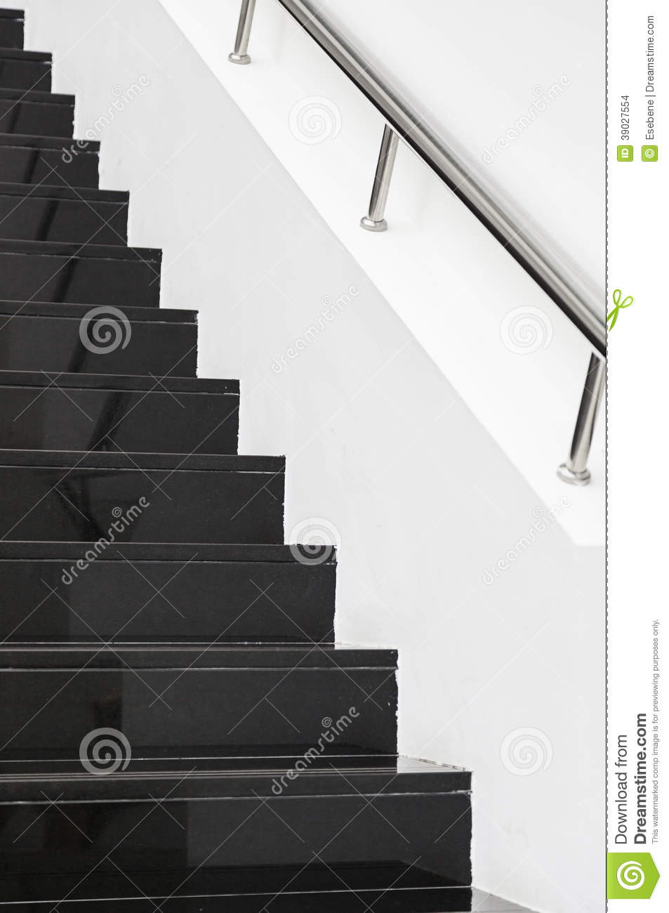 Black Marble Buildings : Black marble stairs stock photo image of