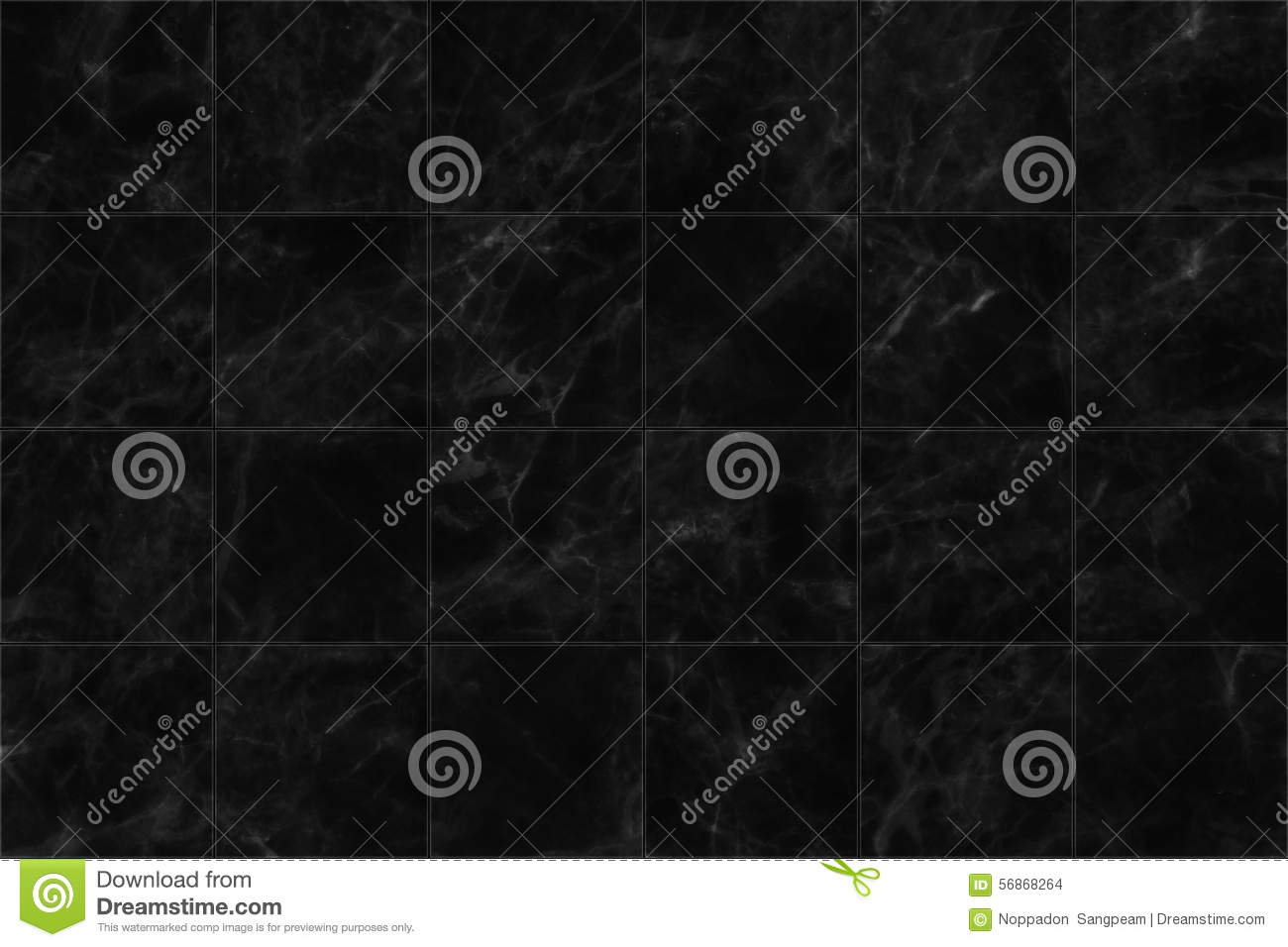 Black Marble Tiles Seamless Flooring Texture For Background And Design
