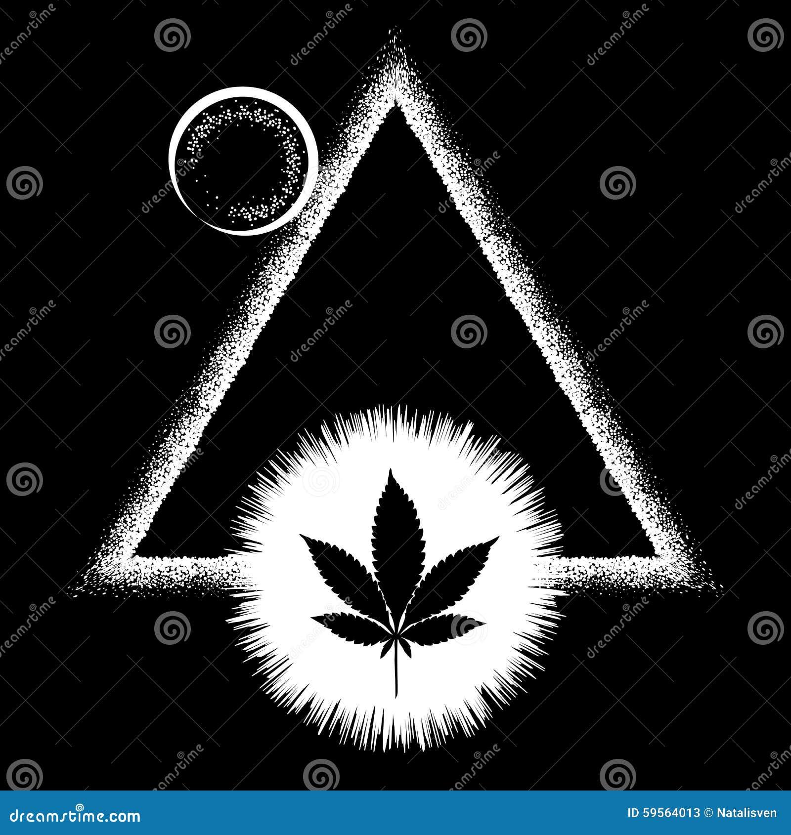 Black marijuana leaf and the sun stock vector image 59564013 black marijuana leaf and the sun biocorpaavc