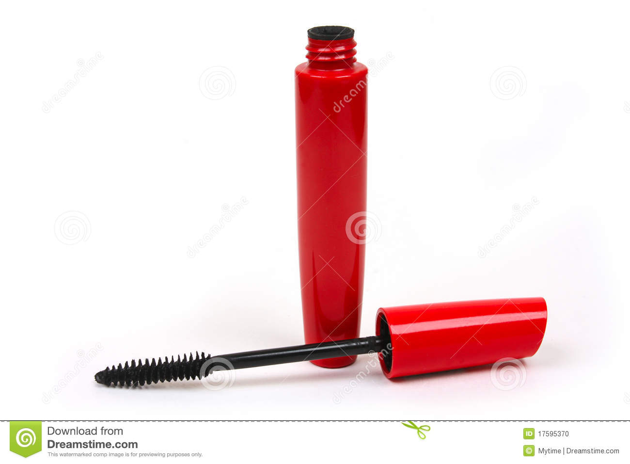 886c402304e Black mascara in red tube stock photo. Image of color - 17595370