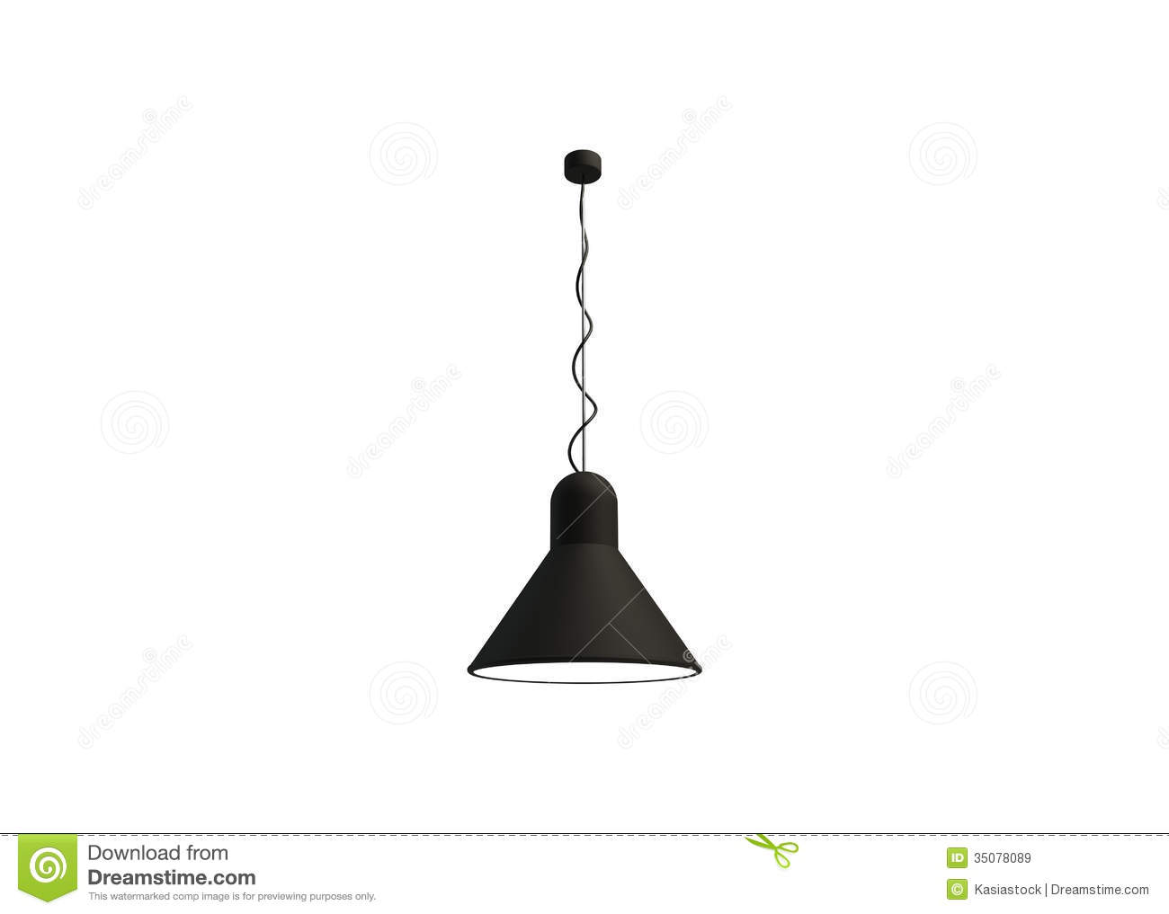 Black Matte Lamp Royalty Free Stock Images Image 35078089