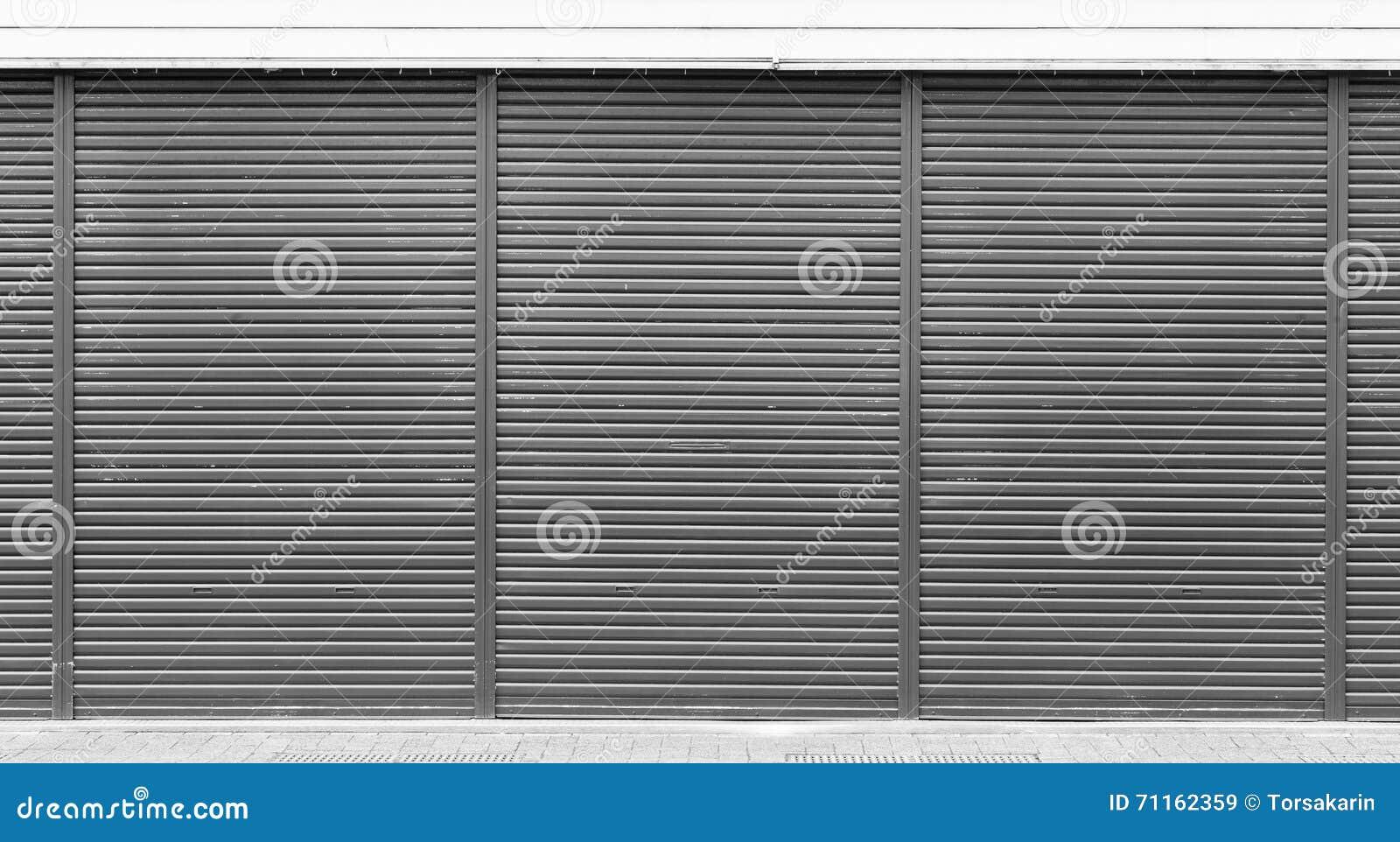 Black Metal Door Shutter Texture Stock Photo Image 71162359. Black Door Texture