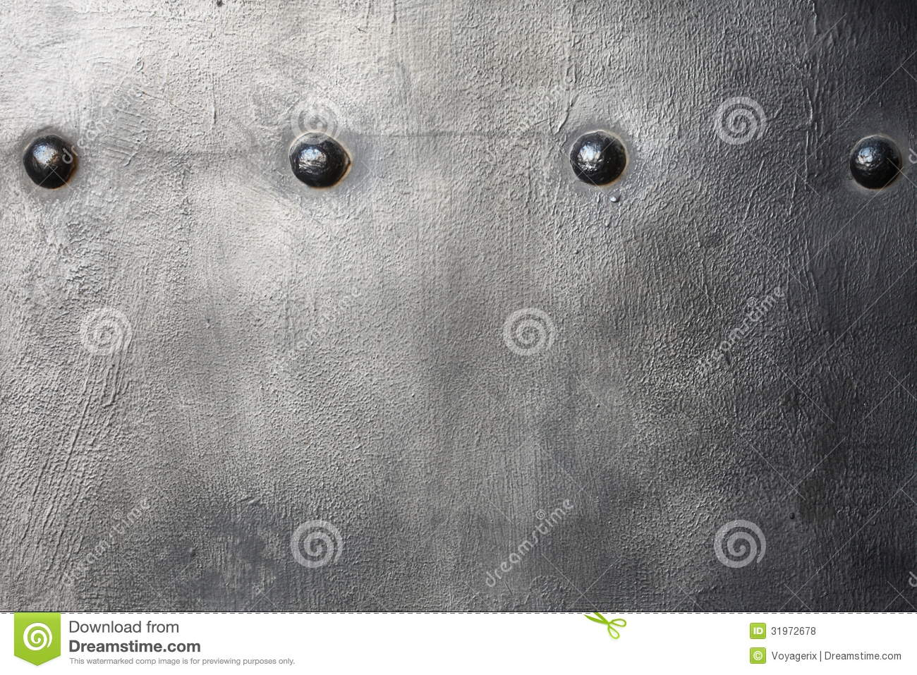 Black Metal Plate Or Armour Texture With Rivets Royalty ...