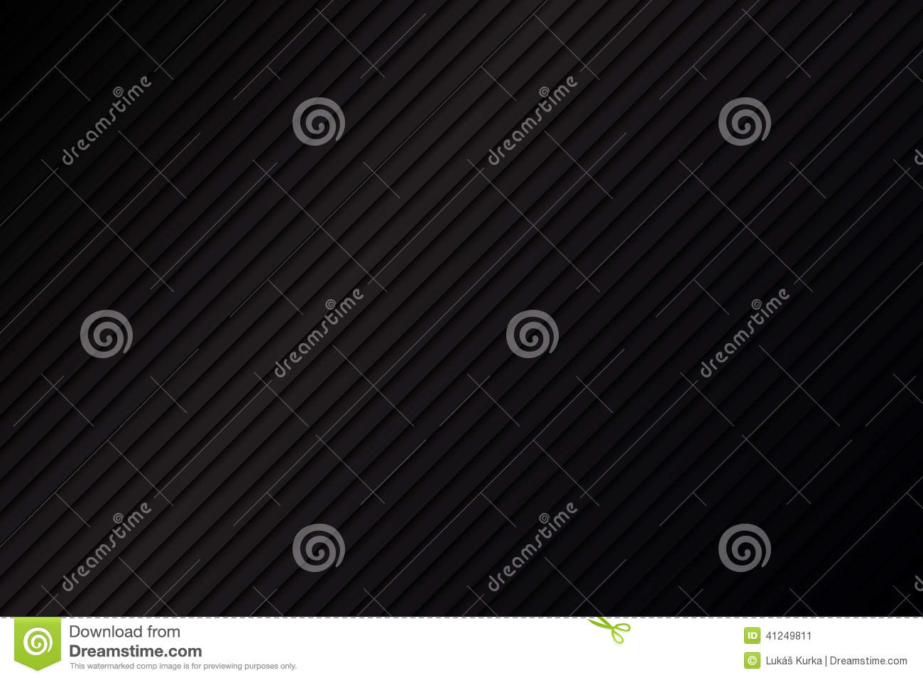 Black metallic abstract background