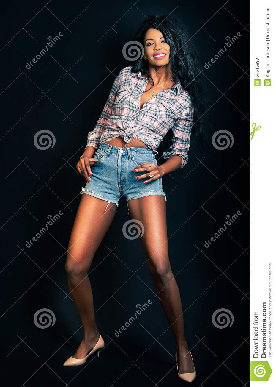 Black Model Woman African American Fashion Female