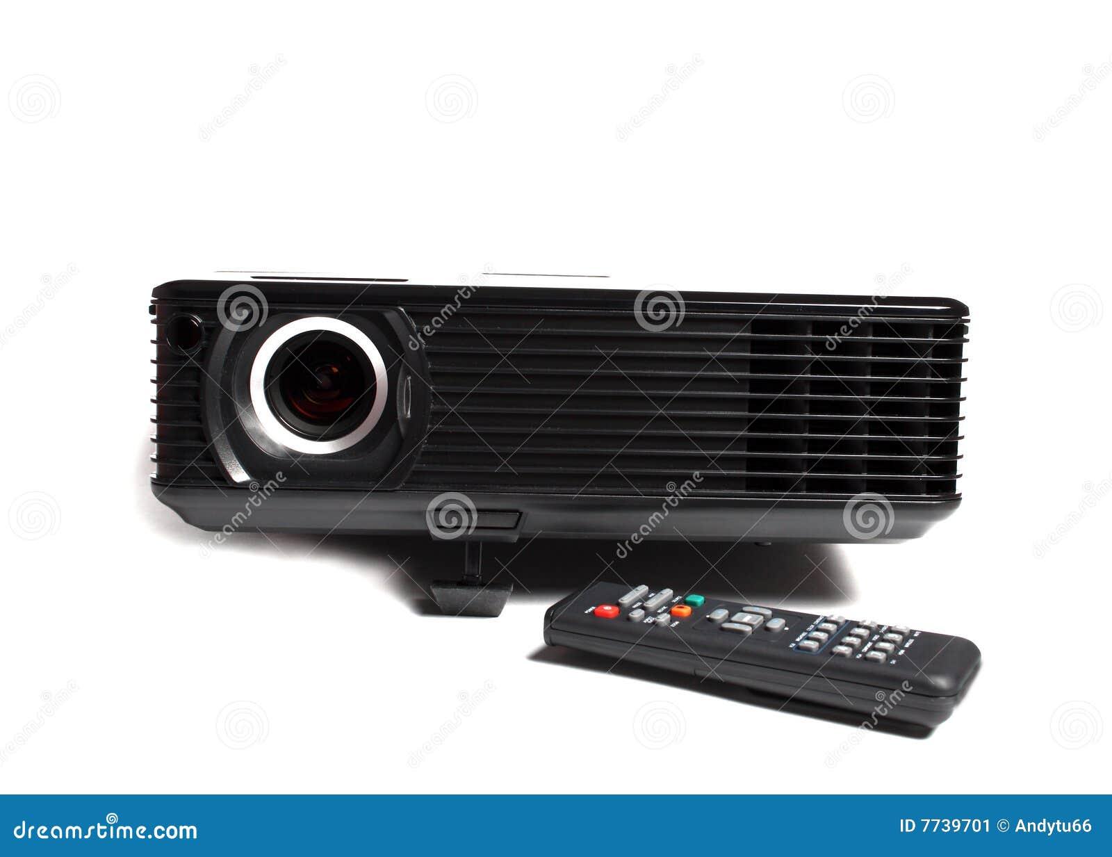 Black multimedia projector