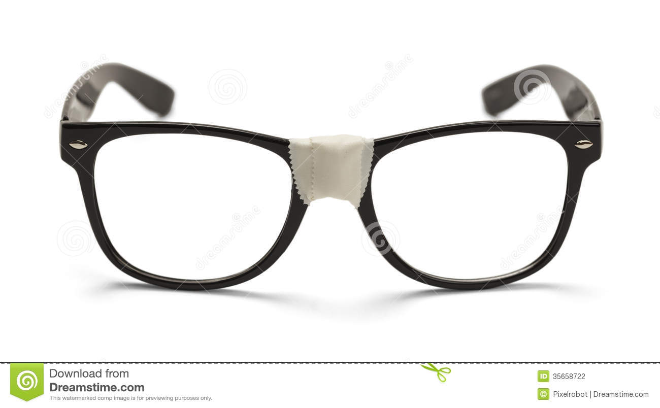 5d6dd8e730f Black Nerd Glasses stock photo. Image of photography - 35658722