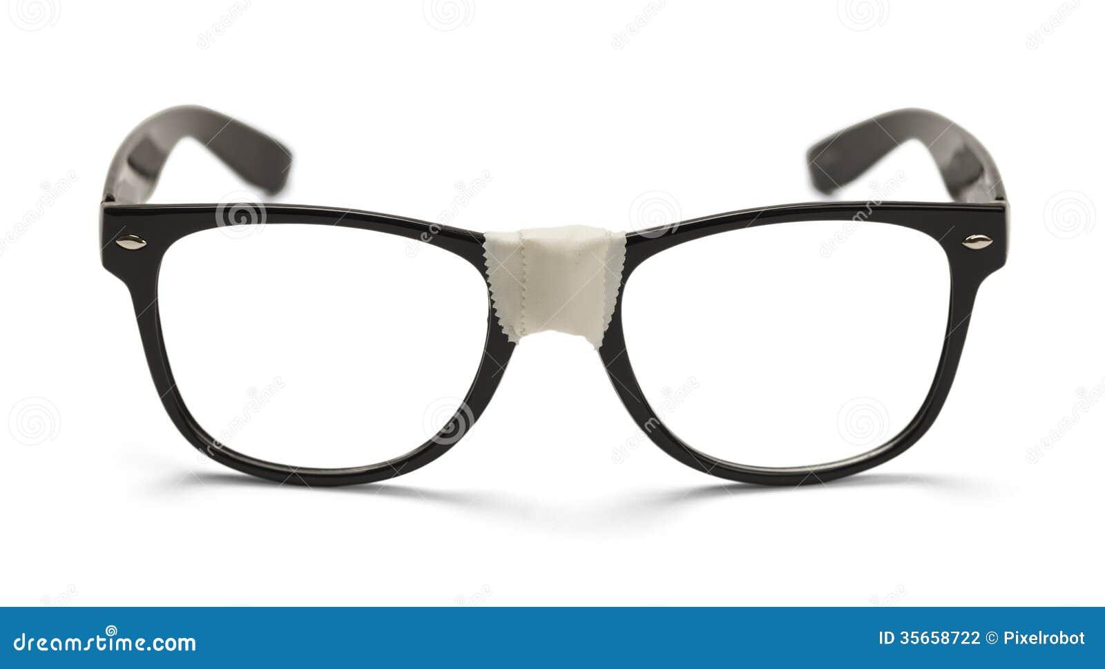 5d6dd8e730f Black Nerd Glasses stock photo. Image of photography - 35658722