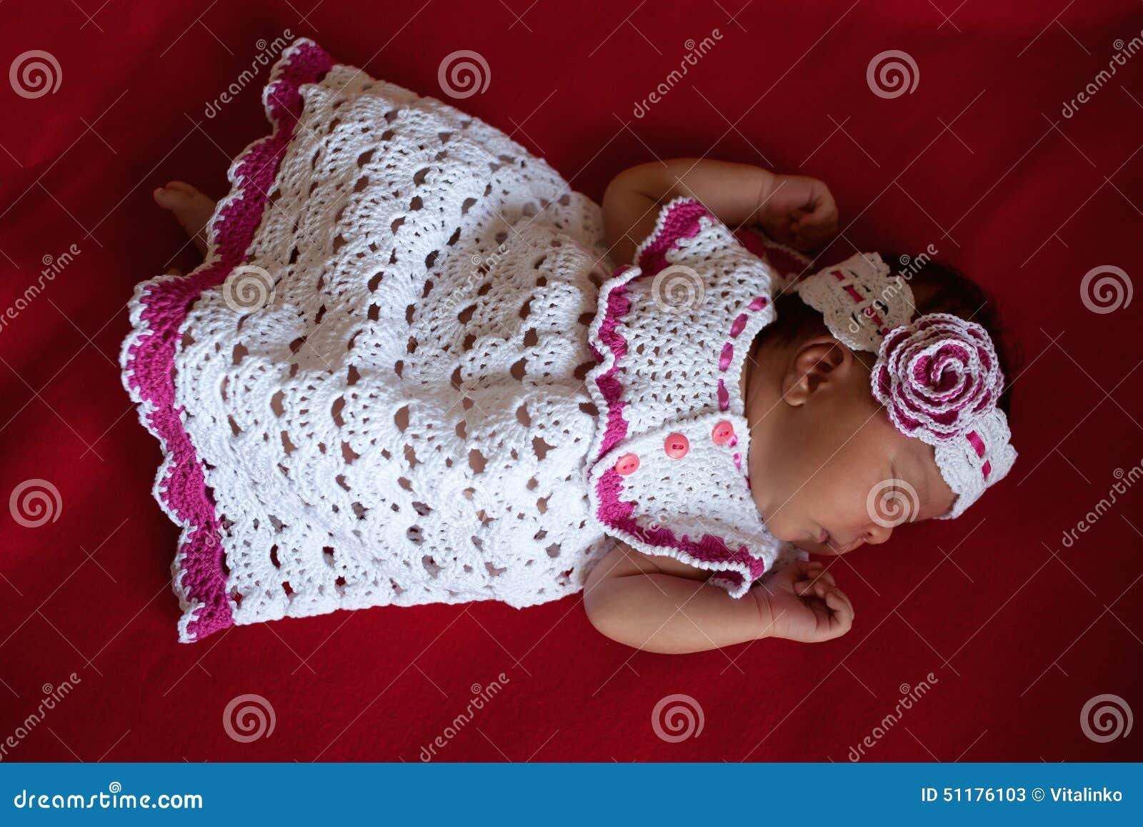 black newborn baby sleeping stock photo image 51176103